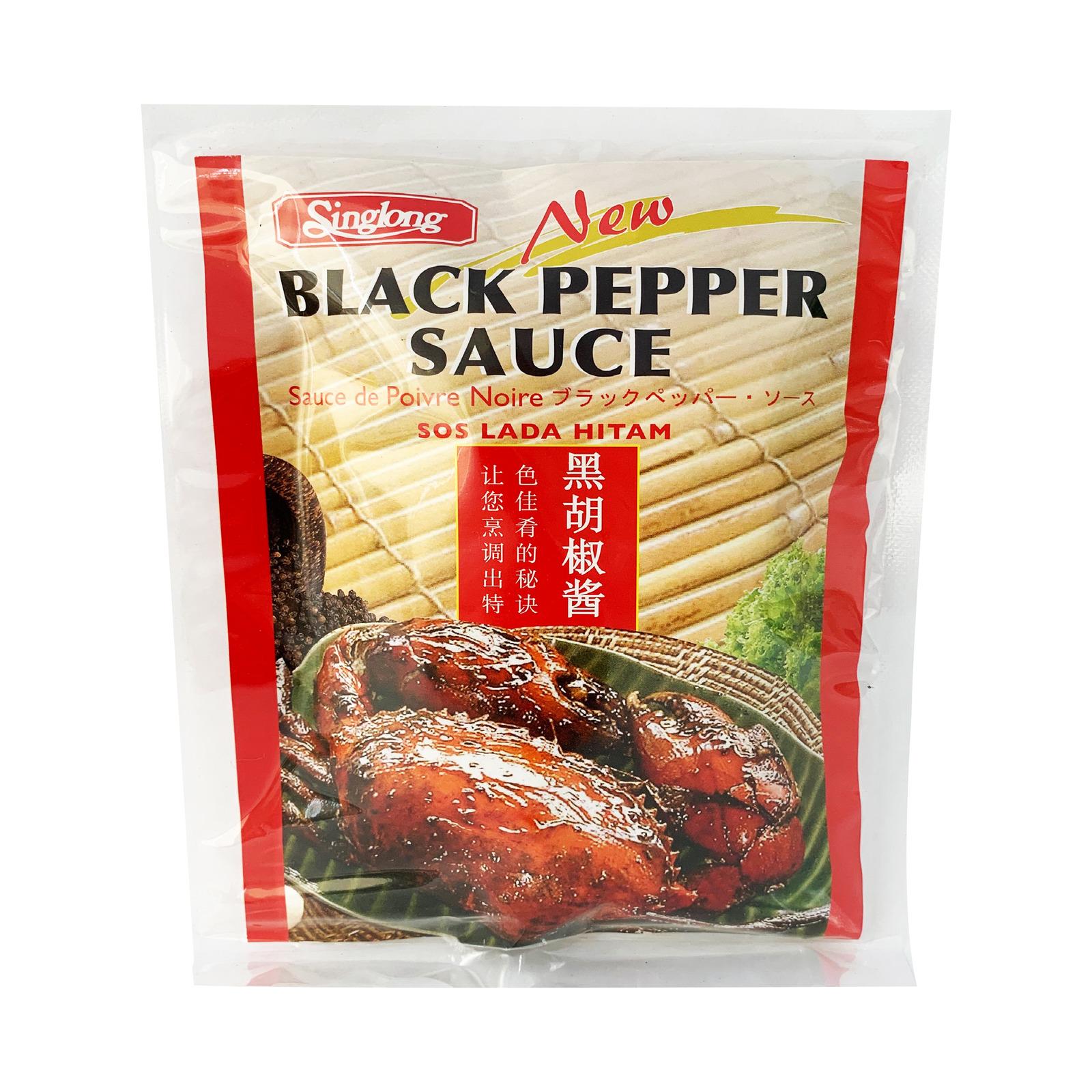 SING LONG Black Pepper Sauce Mix 160g