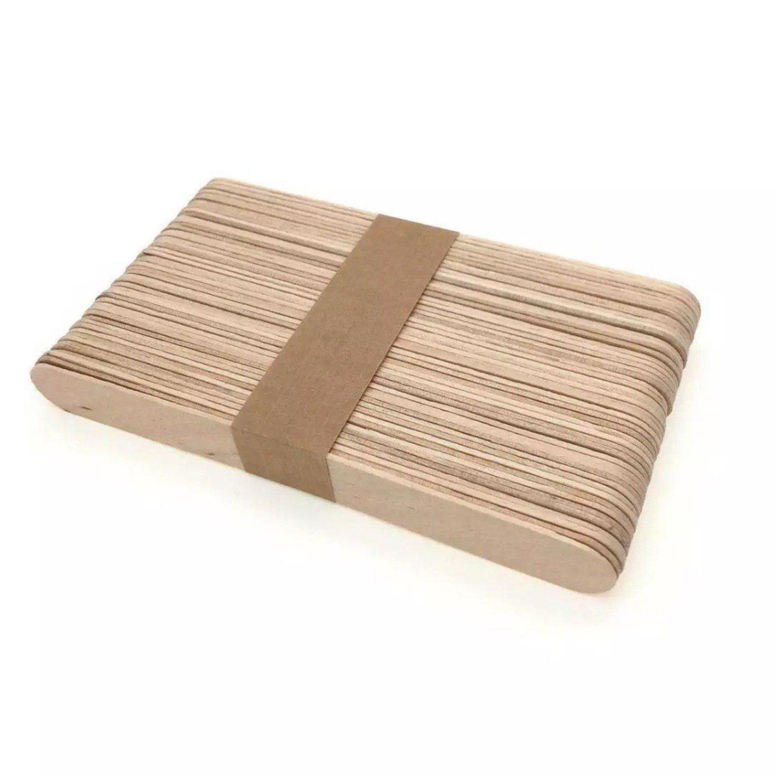 Mtrade Jumbo Ice Cream Craft Sticks - Wooden