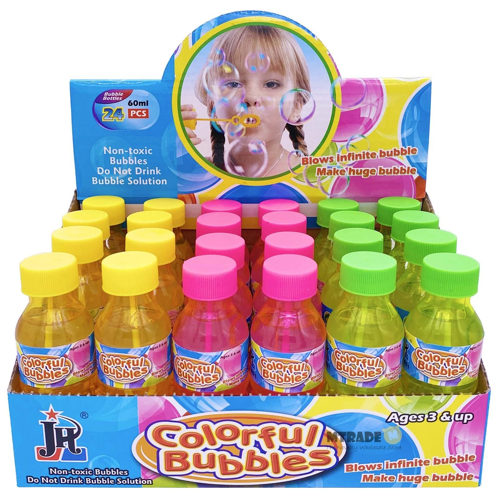 Mtrade 60ml Bubble Water Bottle Assorted Color