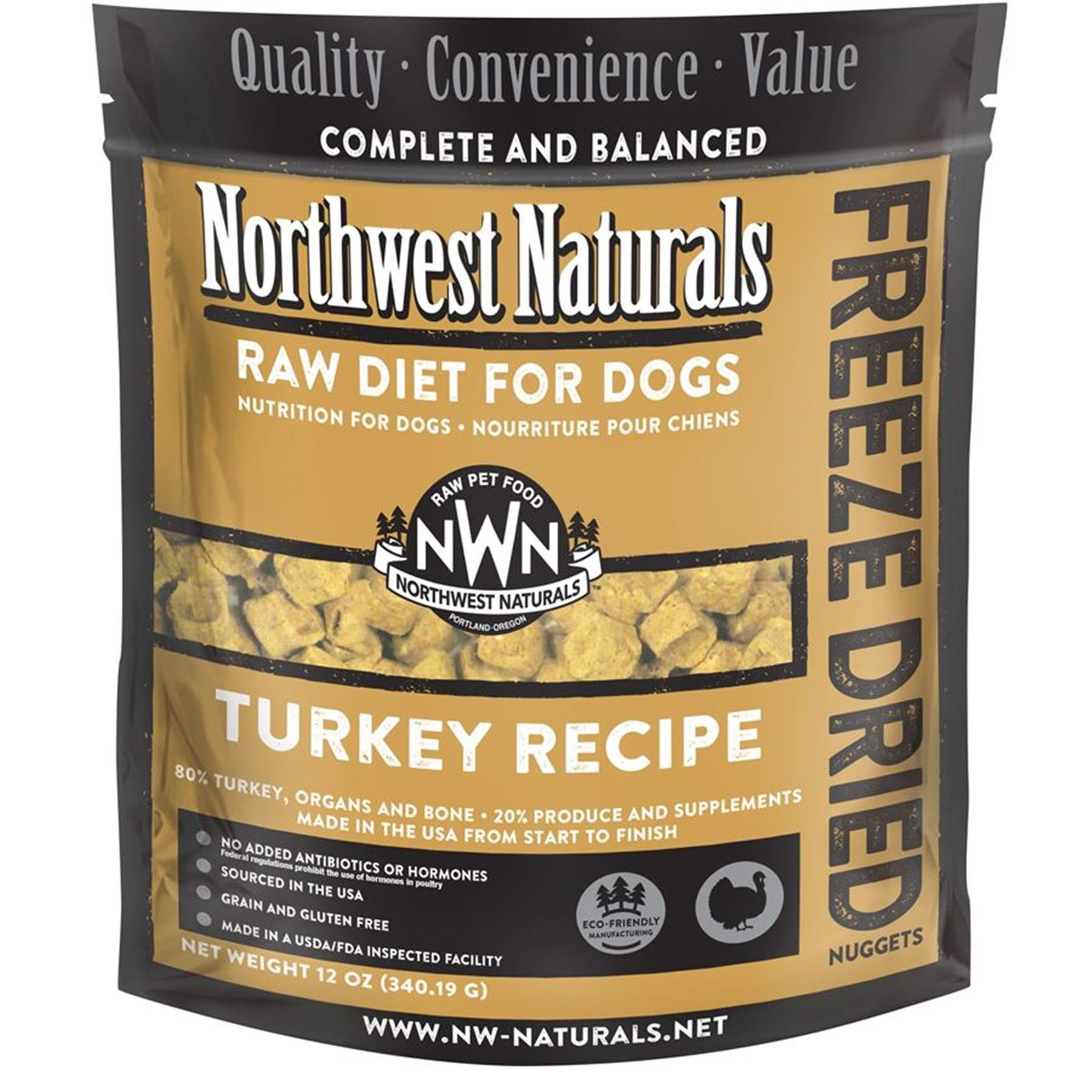 Northwest Naturals Turkey Freeze Dried Nuggets