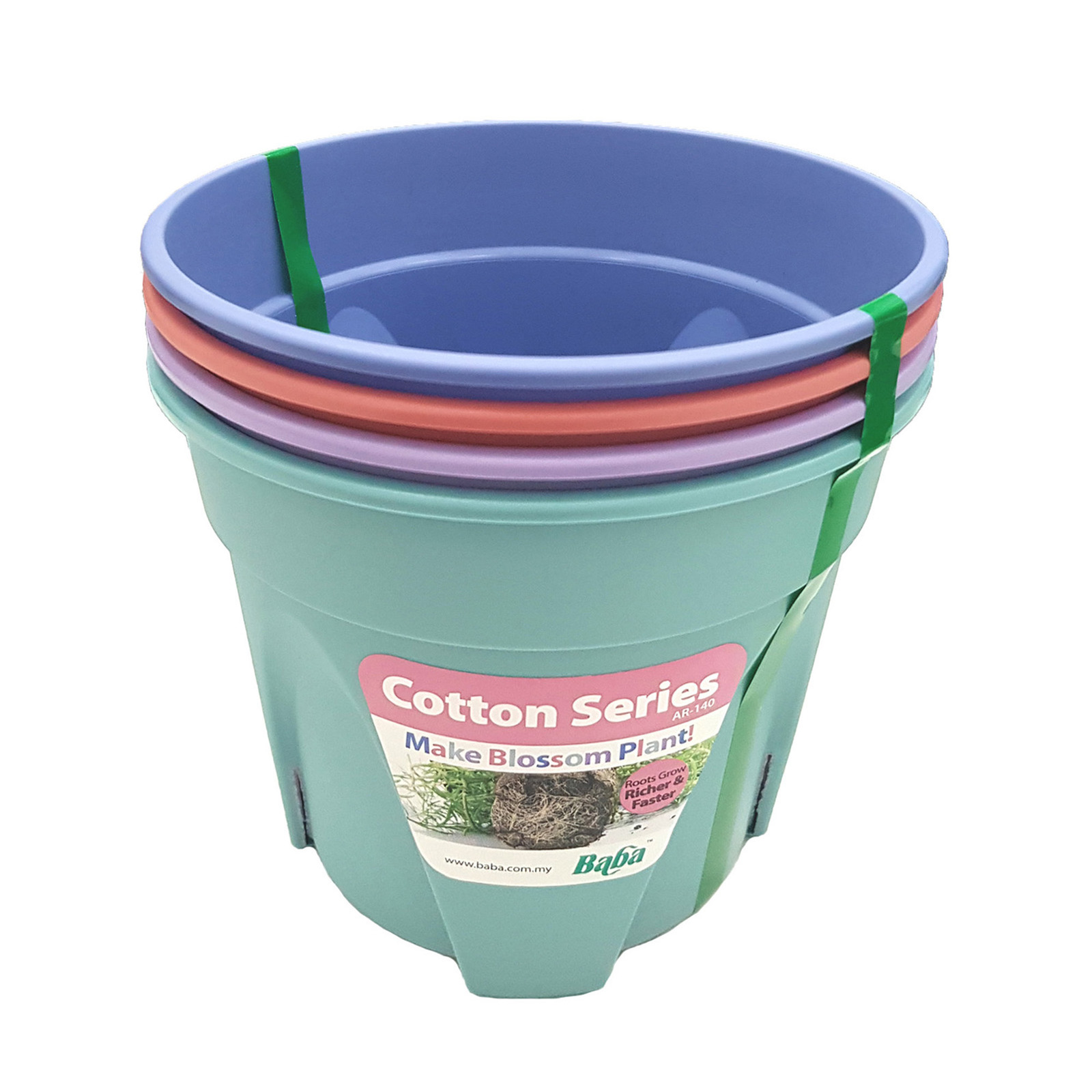 Baba Soffy Mix Colors Collection Pot - 140mm