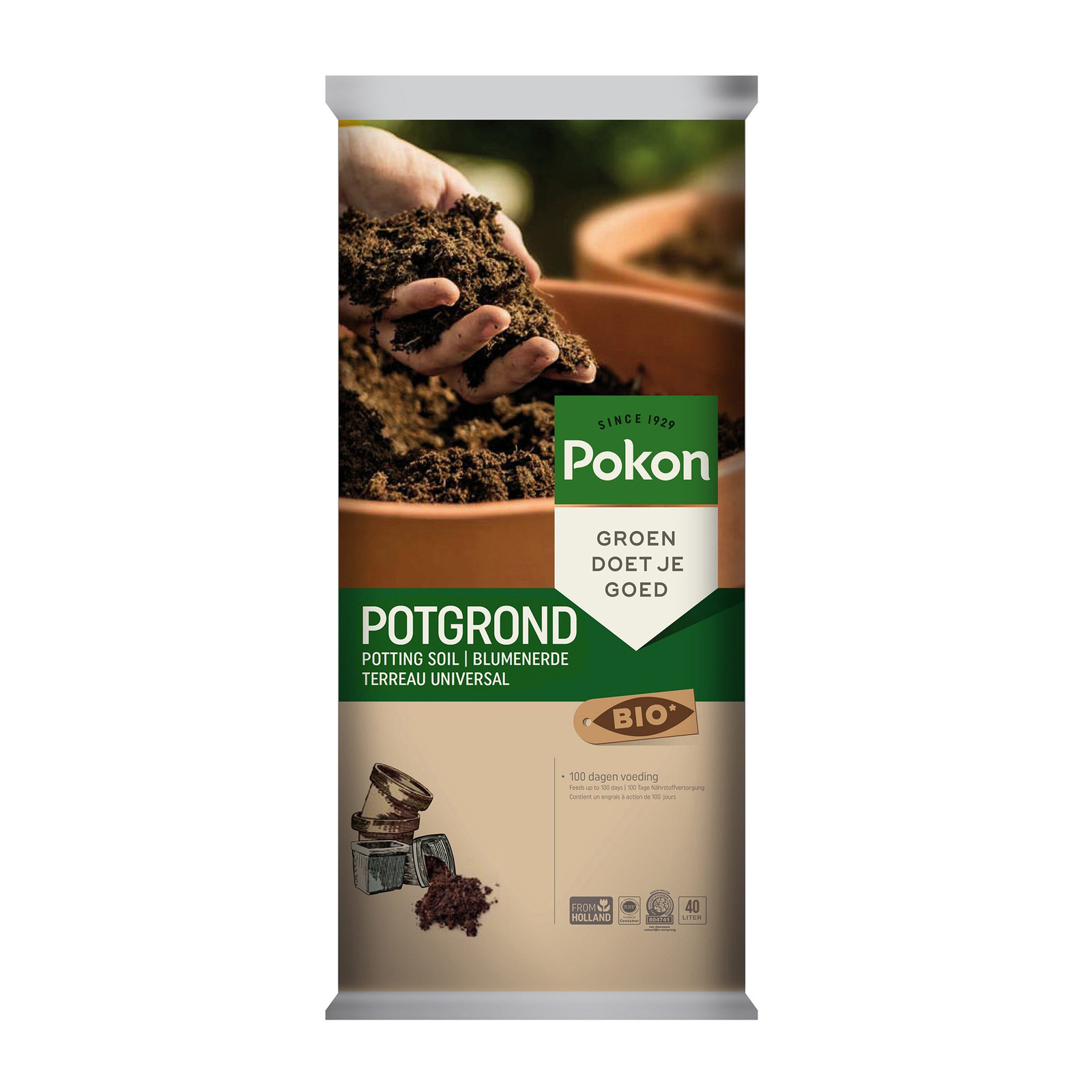 Pokon Organic Soil - Potting Mix (40L)
