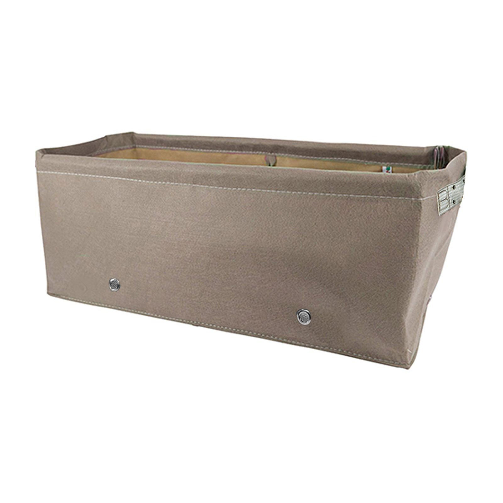 BloomBagz 45L Fabric Raised Bed - Brown (60 X 30 X 25cm)