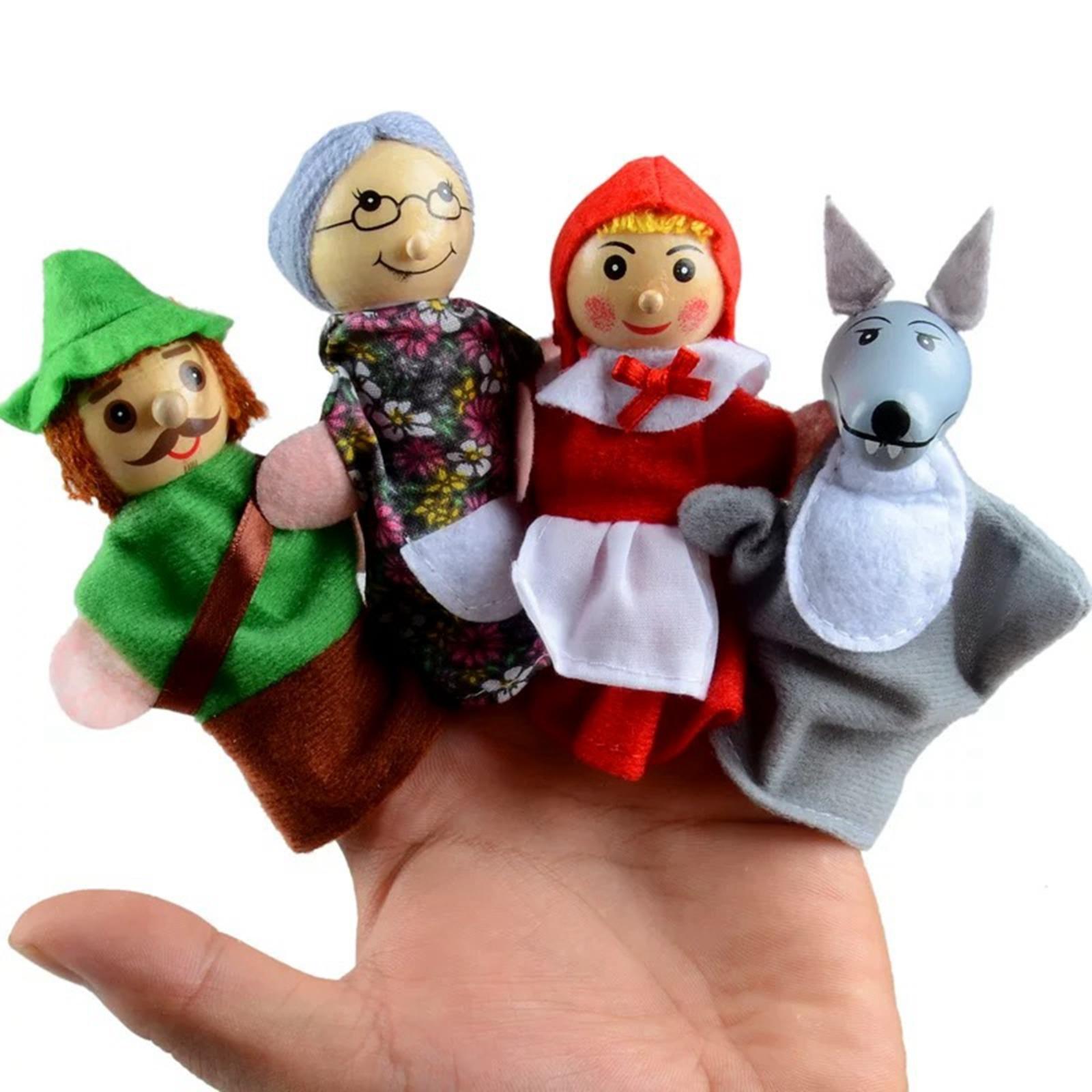 Finger Puppet Set - Little Red Riding Hood