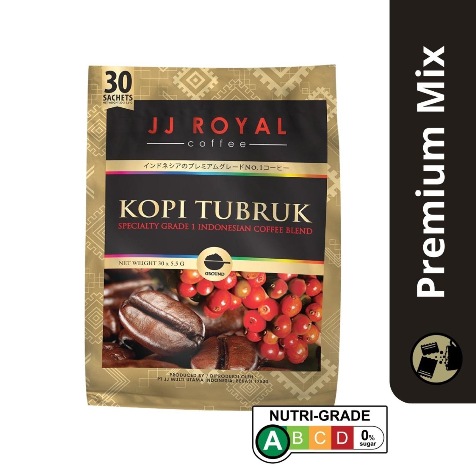 JJ Royal Coffee -Black Coffee (Microground Coffee)
