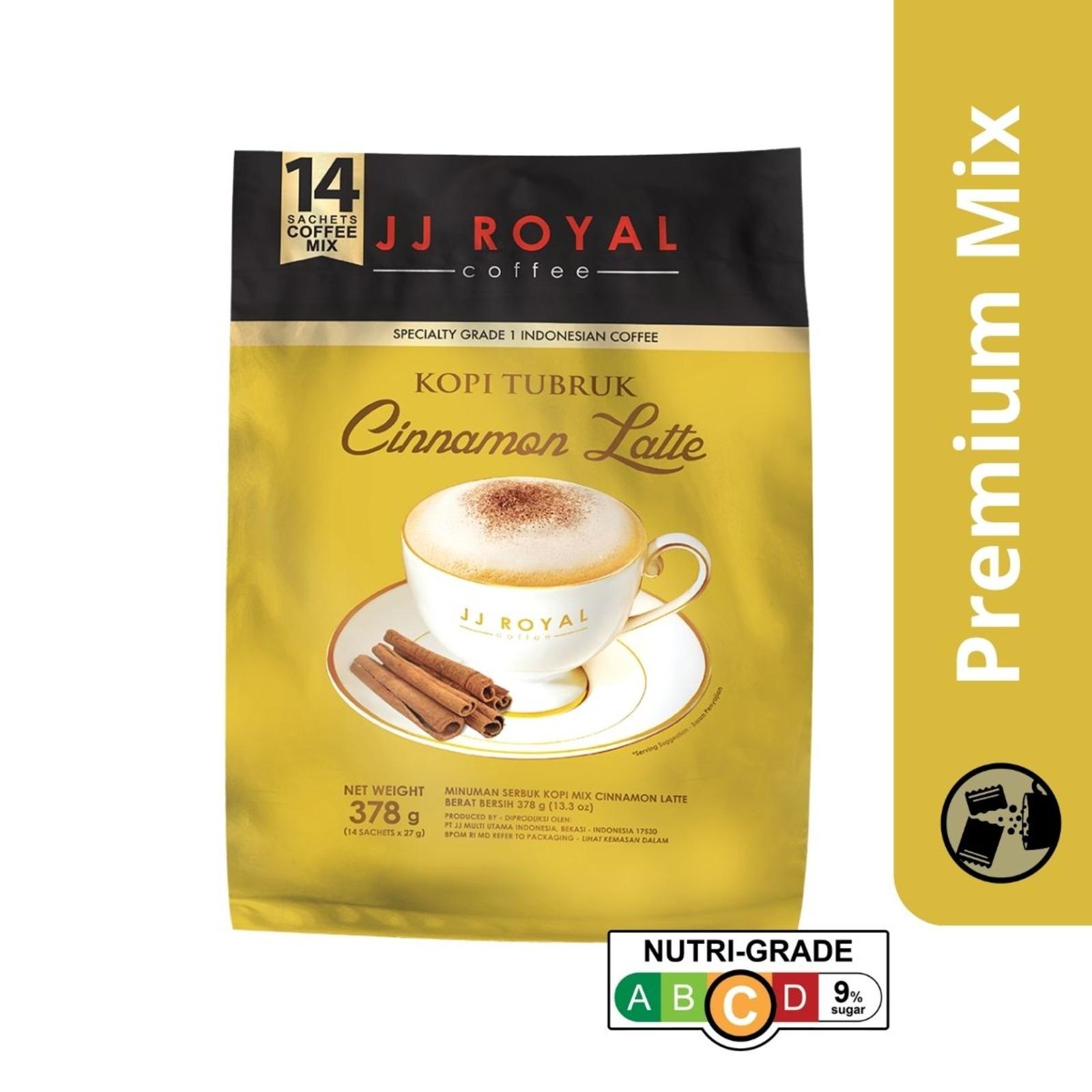 JJ Royal Coffee - Cinnamon Latte (Premix)