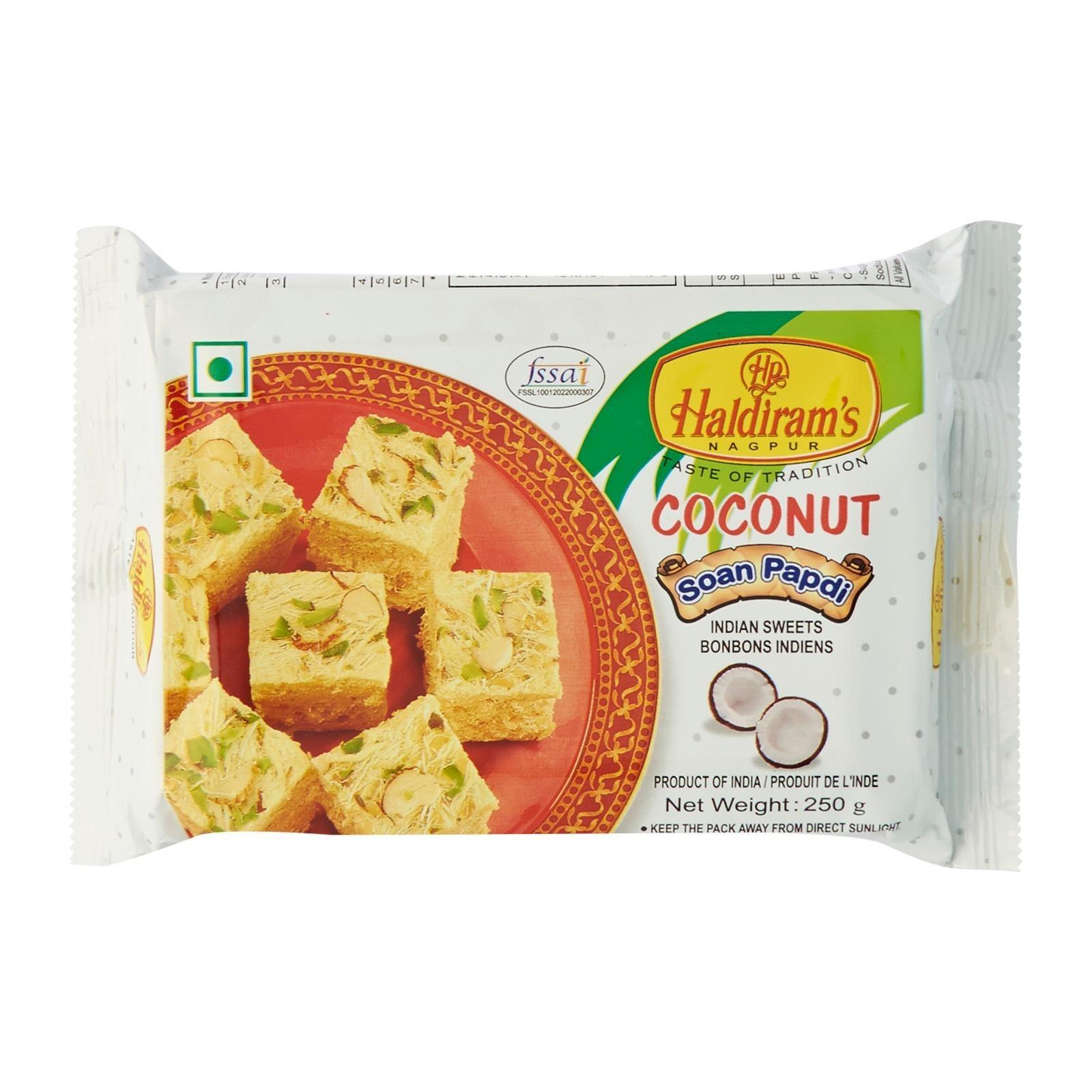 Haldirams - Coconut Soan Papdi