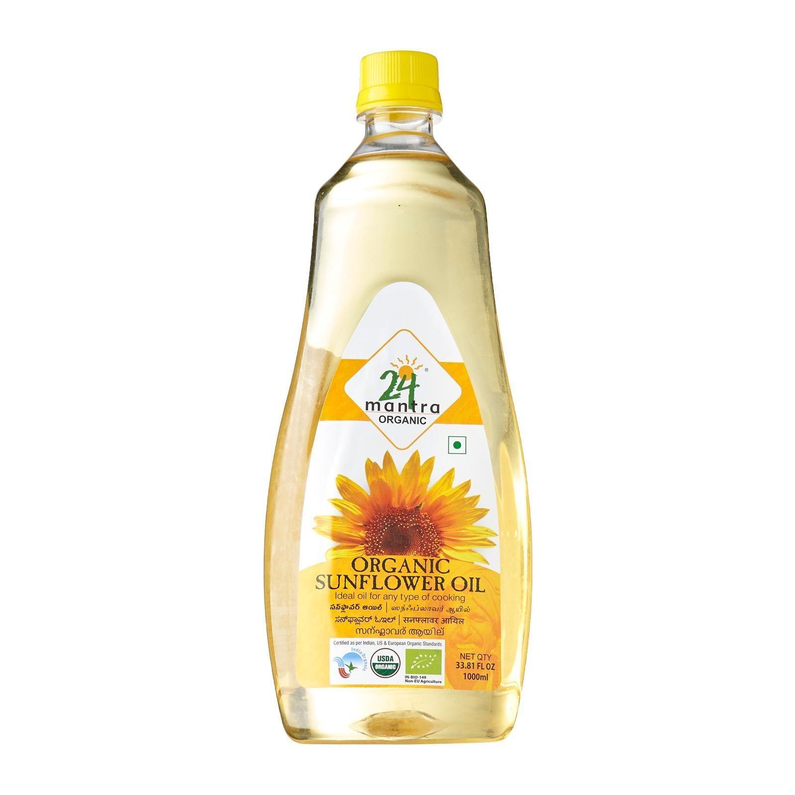 24 Mantra Organic - Sunflower Oil