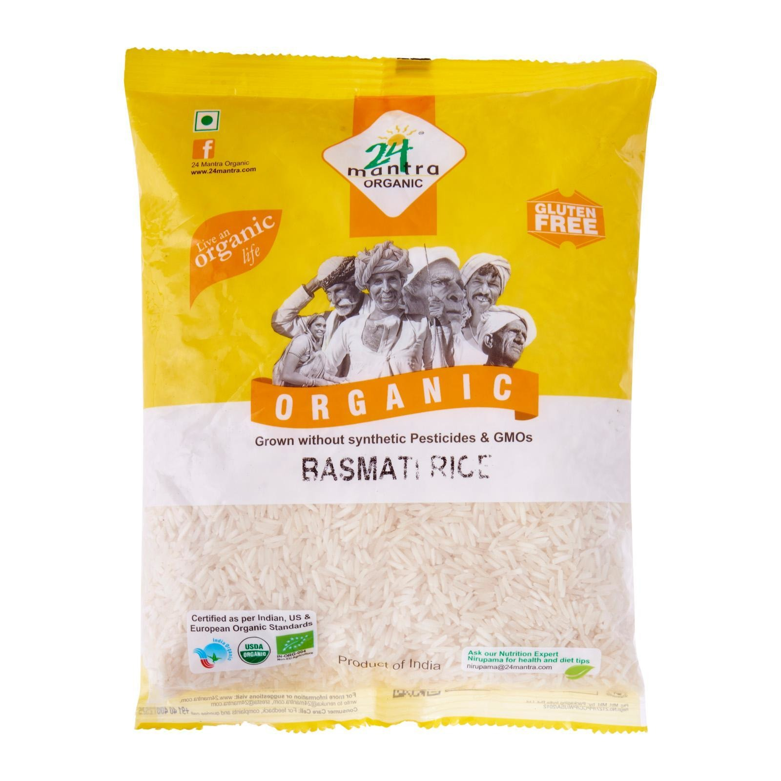 24 Mantra Organic - Basmati White Rice