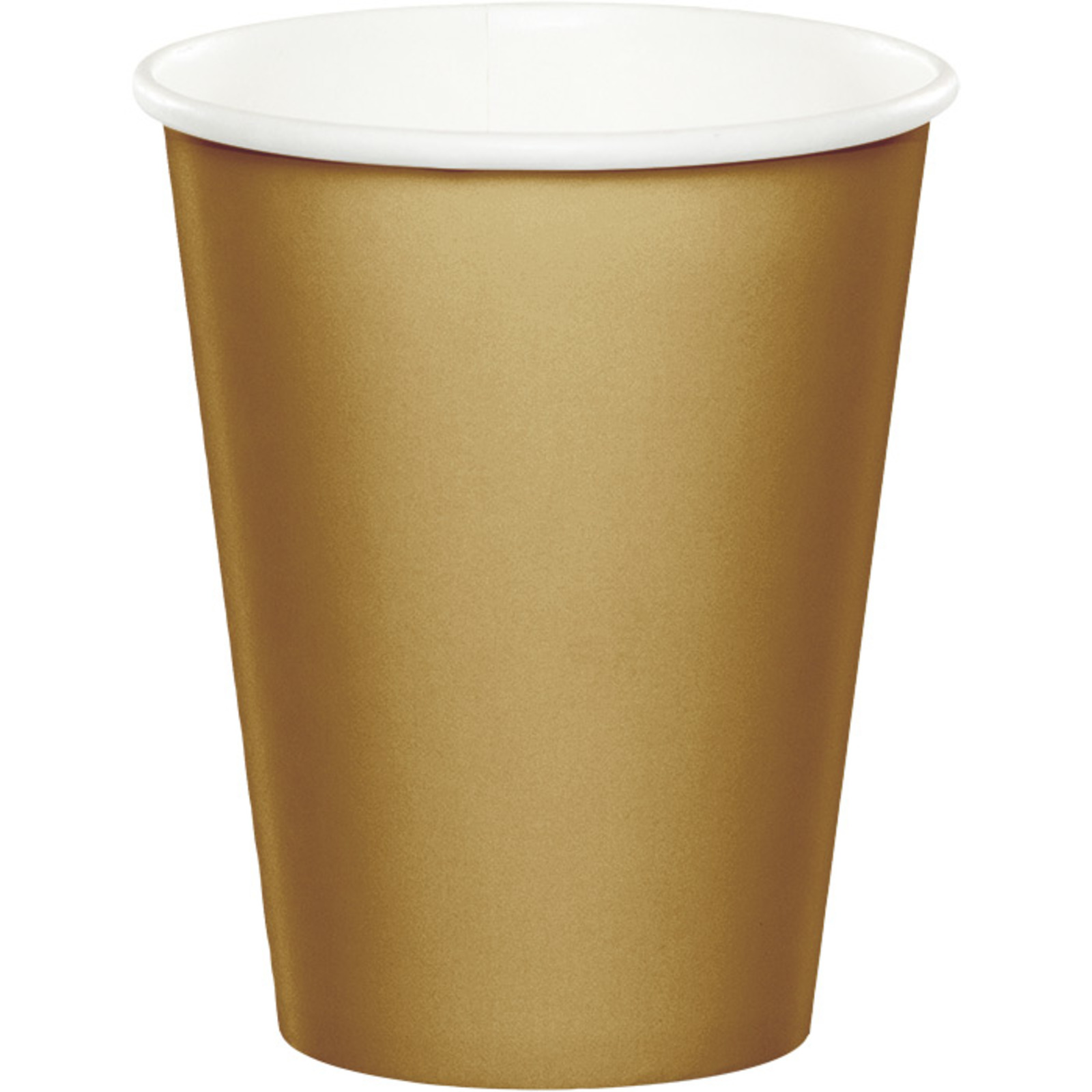 Creative Converting Gold 9 Oz Paper Cup