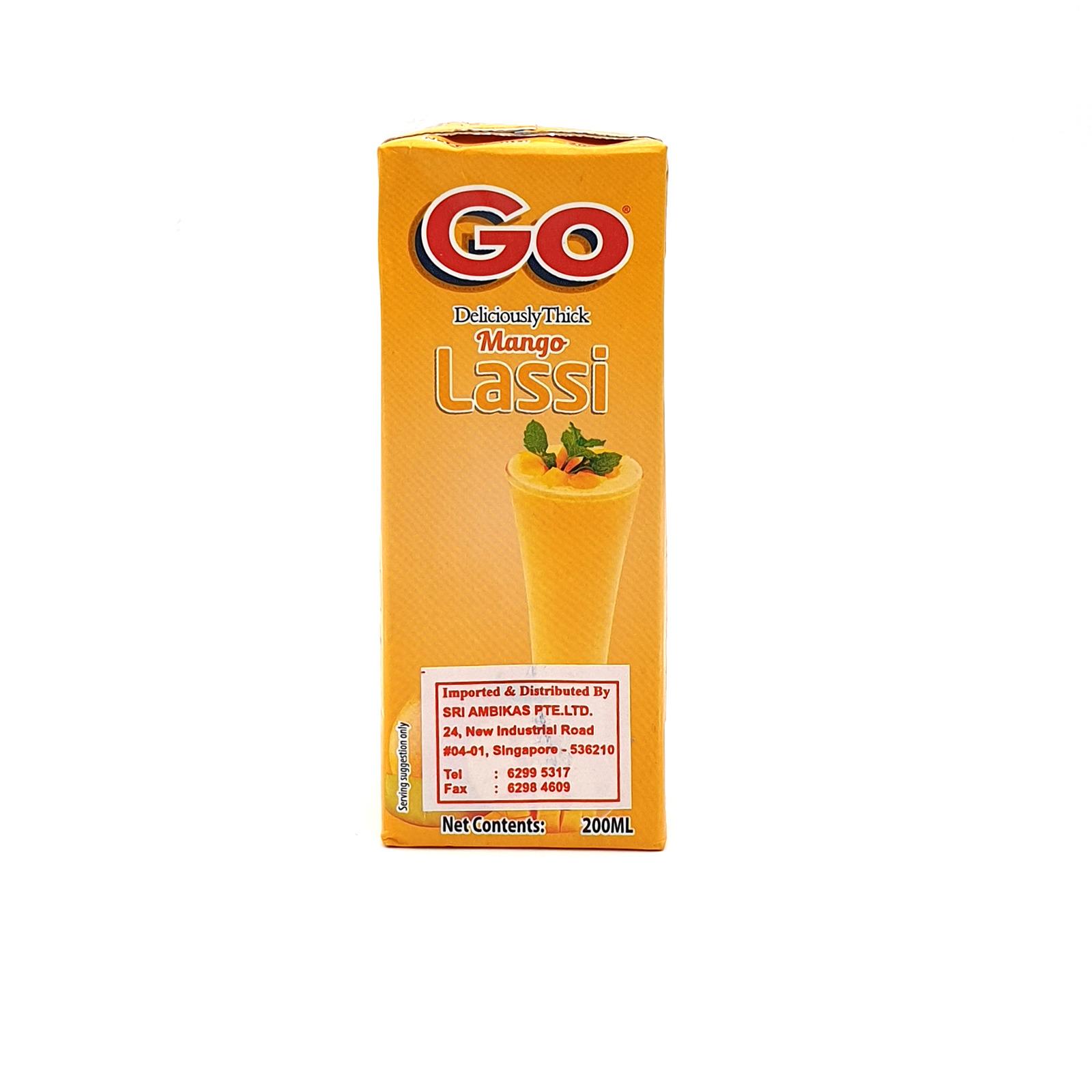 Go - Deliciously Lassi - Thick Mango