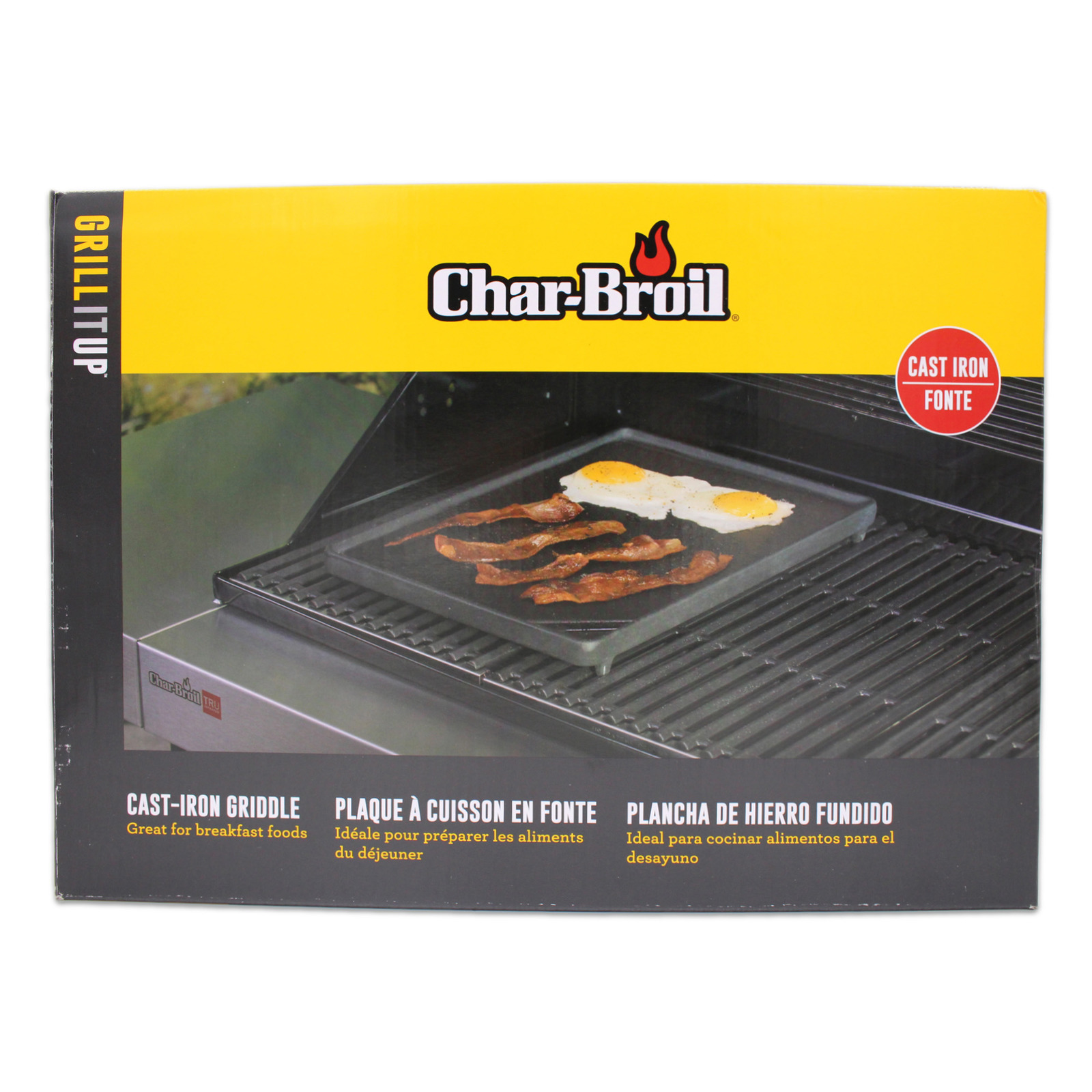 Char-Broil Porcelain Coated Cast Iron BBQ Griddle