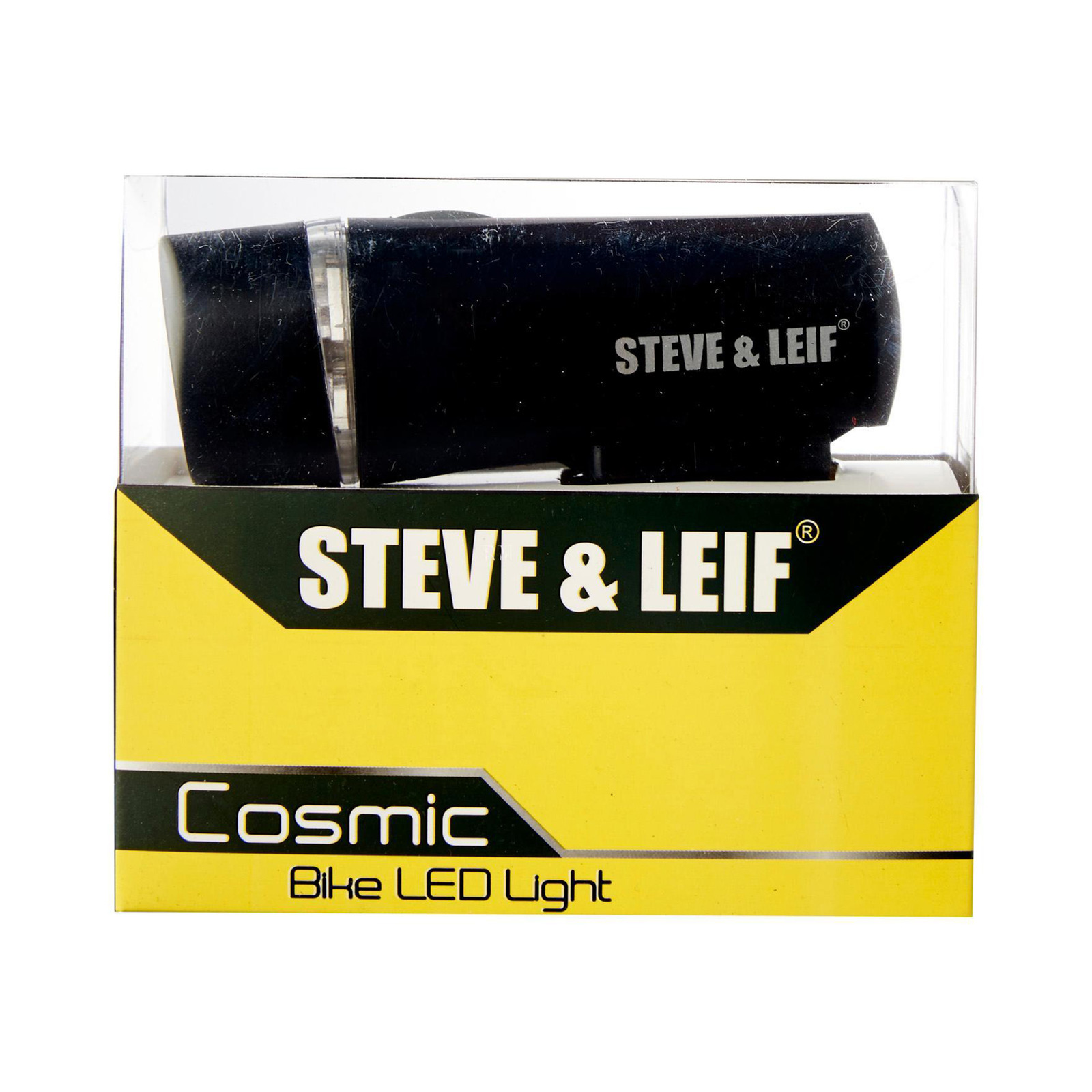 Steve & Leif Cosmic 5 LED White Bicycle Torch
