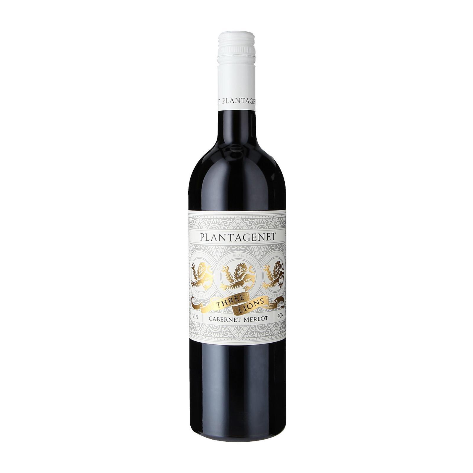 Plantagenet Three Lions Cabernet Merlot-By Culina