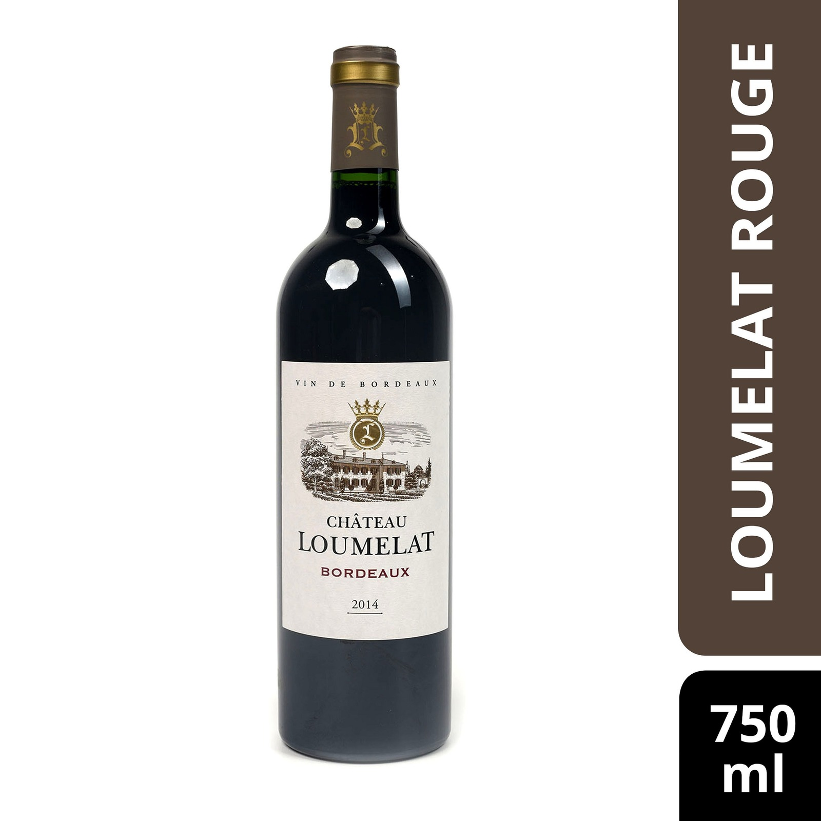 Vignobles Lesgourgues Chateau Loumelat Rouge - By Culina