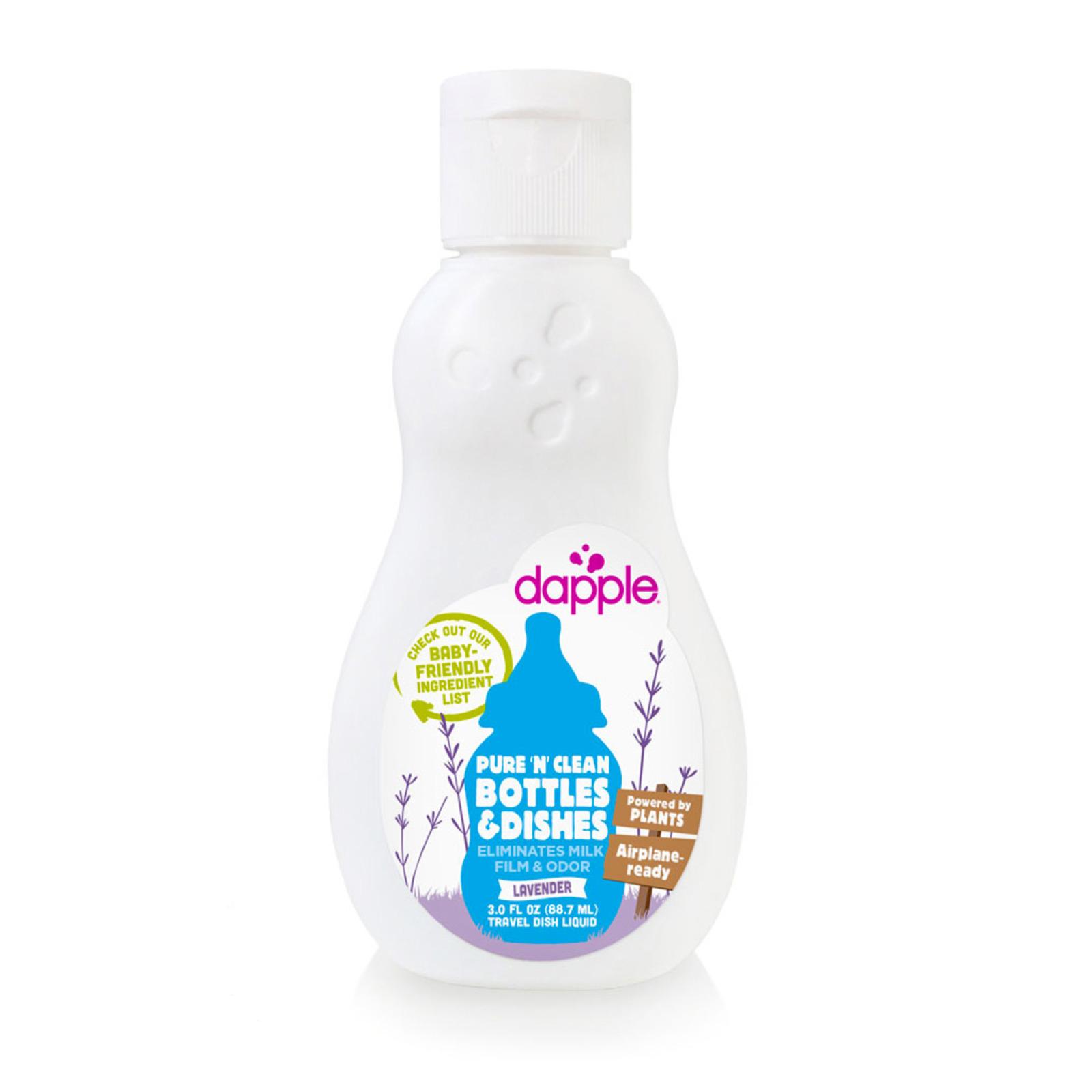 Dapple Baby Bottle & Dish Liquid Travel Size Lavender