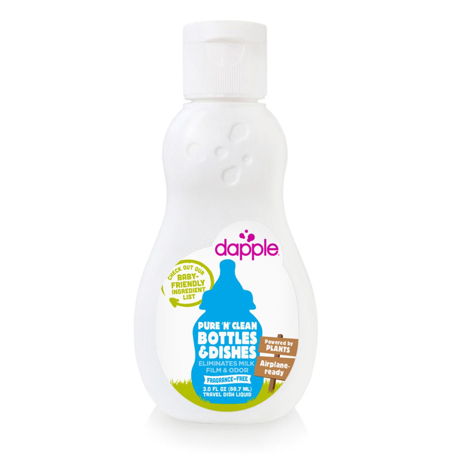 Dapple Baby Bottle & Dish Liquid Travel Size Fragrance Free