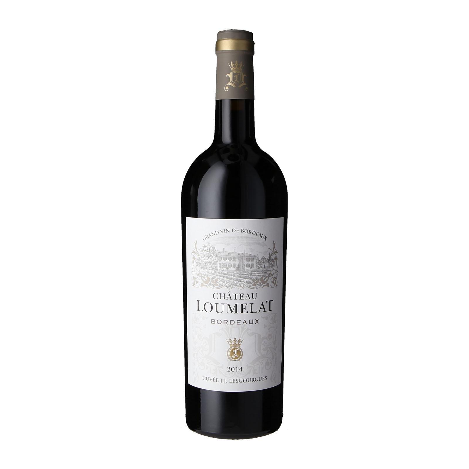 Chateau Loumelat Cuvee JJ Lesgourgues Rouge Bordeaux-By Culina