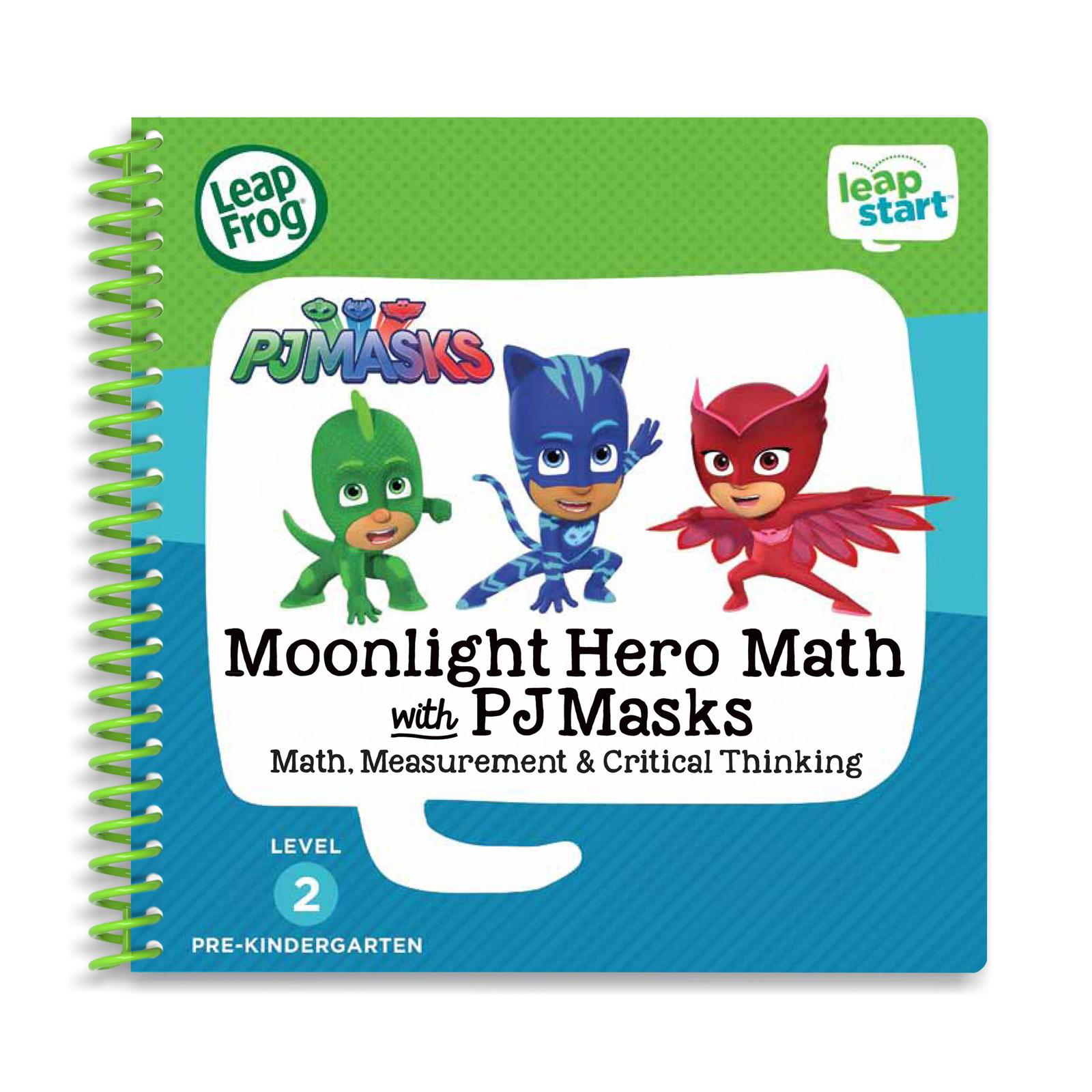 LeapFrog Leapstart 3D Book-Pj Masks Moonlight Hero Math w Pj Mask