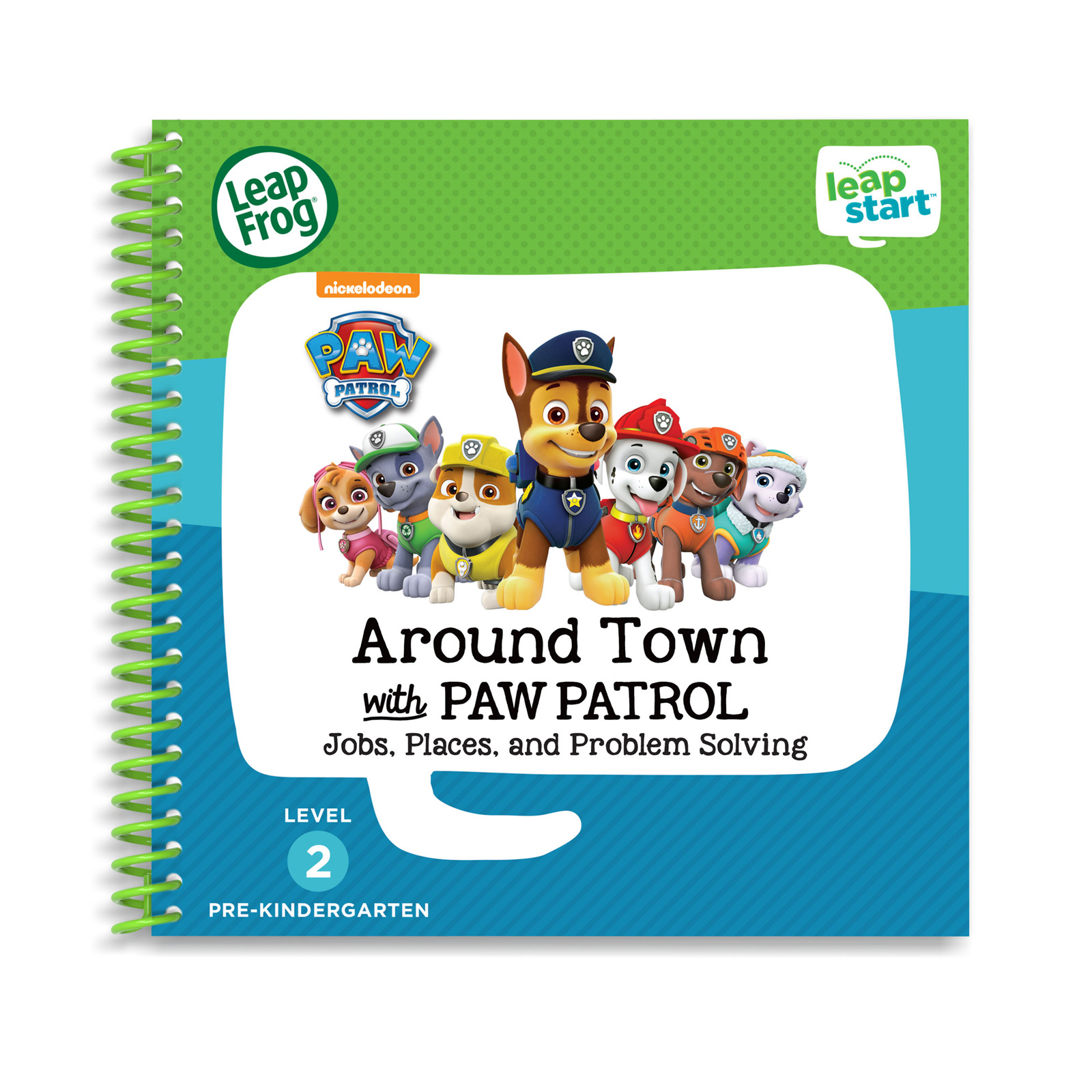 LeapFrog Leapstart Book - Paw Patrol, Around Town With Paw Patrol