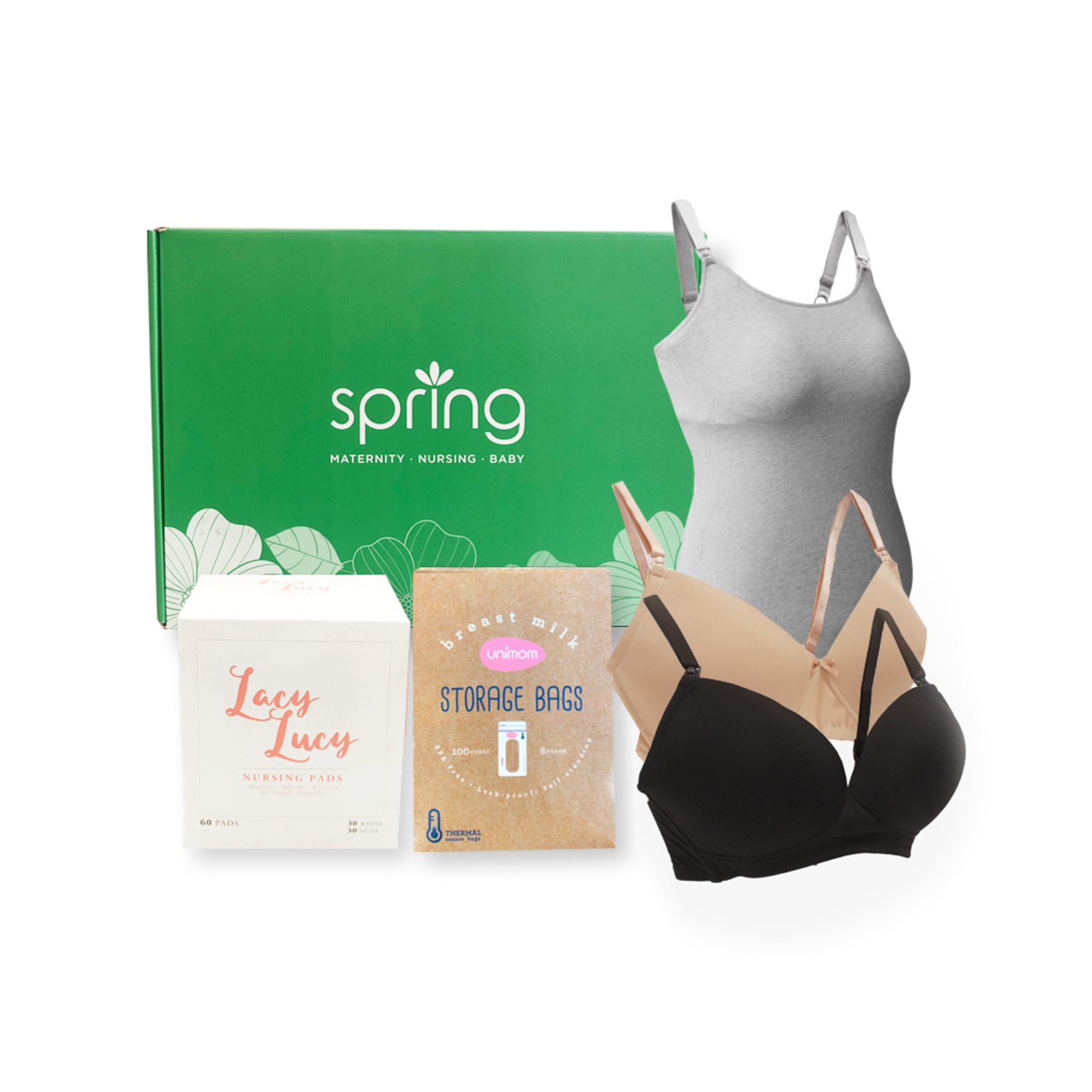 Spring Maternity Nursing Care Pack - Size M