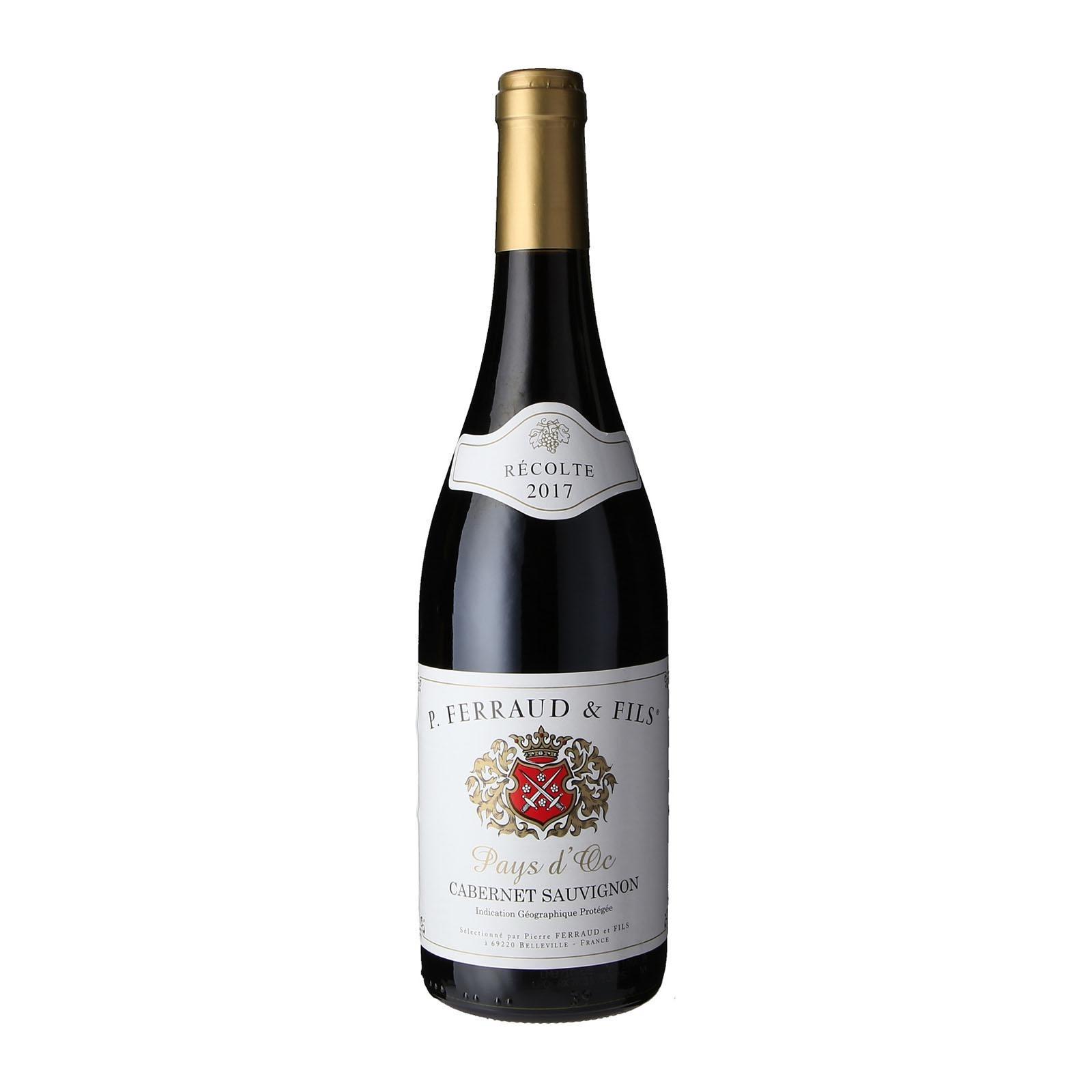 Pierre Ferraud Cabernet Sauvignon Vin De Pays IGP-By Culina