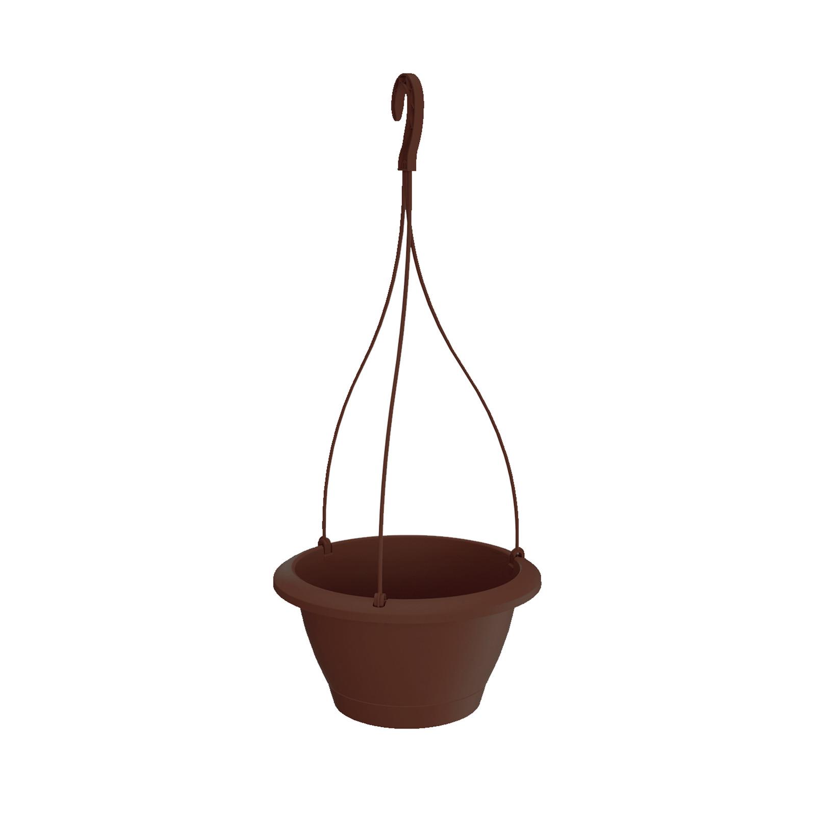 Prosperplast Respana Hanger Pot (270 x 145MM) Brown