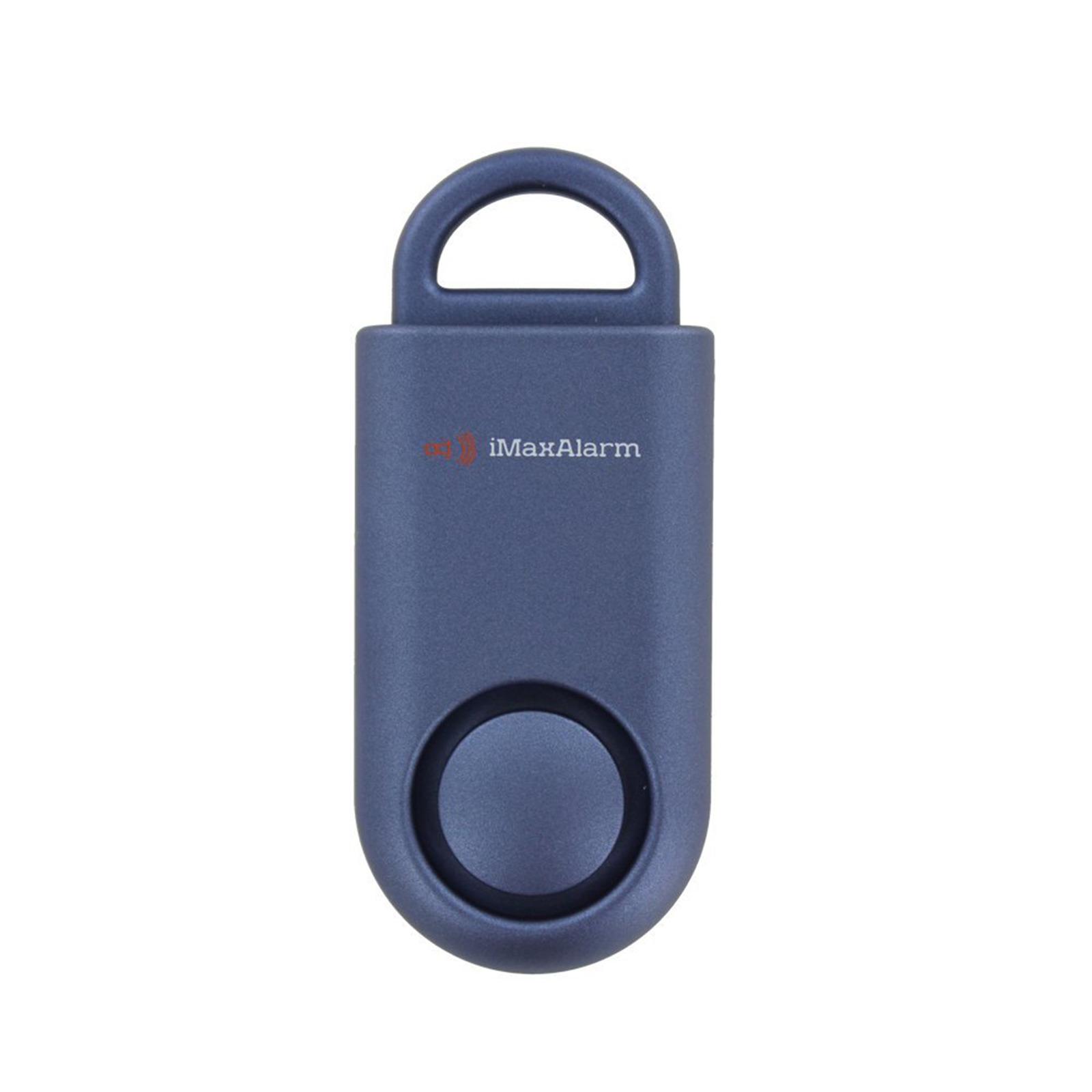 iMaxAlarm Portable SOS Alert Personal Security Alarm (Navy Blue)