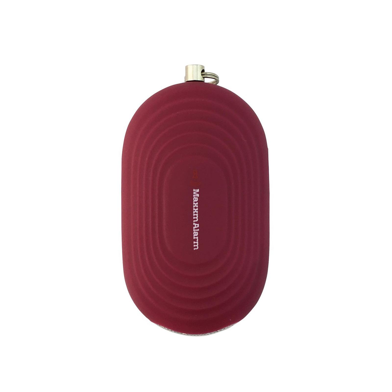 iMaxAlarm Portable Personal Alarm With Light (Matte Ruby)