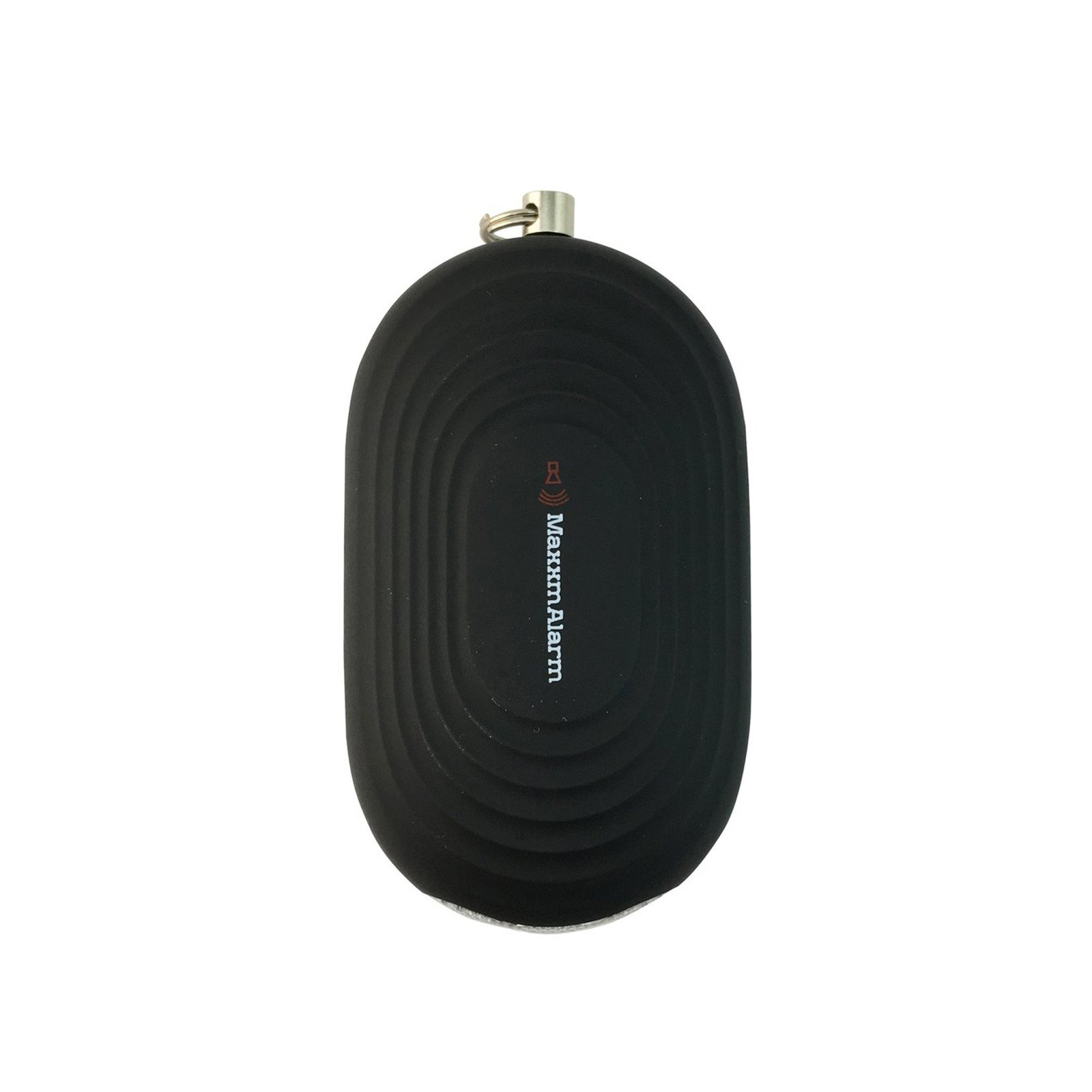 iMaxAlarm Portable Personal Alarm With Light (Matte Black)