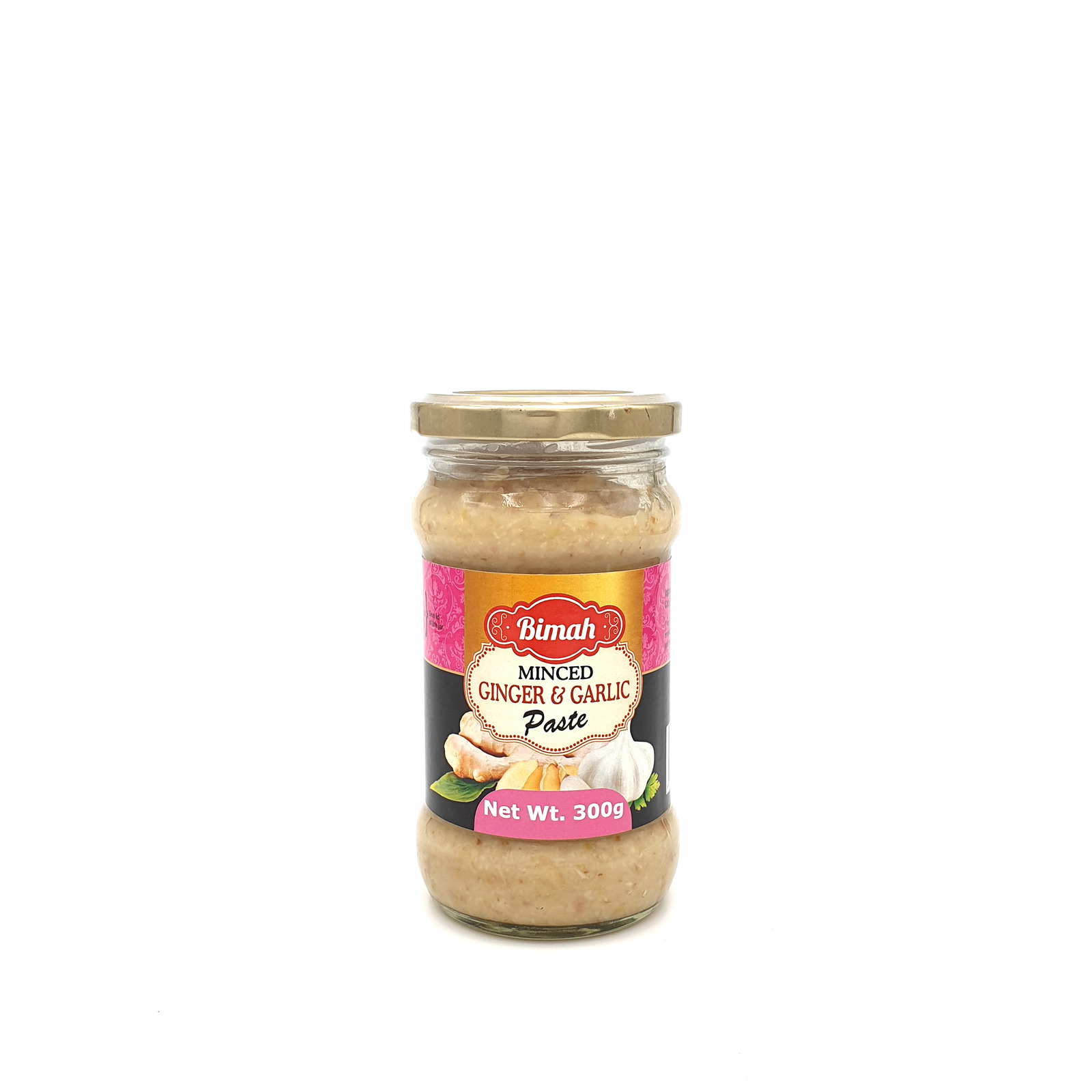 Bimah Minced Ginger & Garlic Paste
