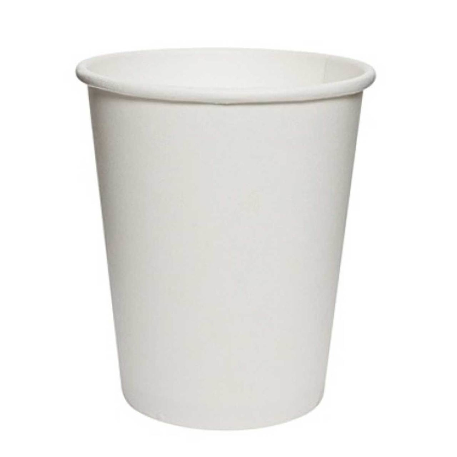 MTRADE Disposable 8 Oz White Paper Cups