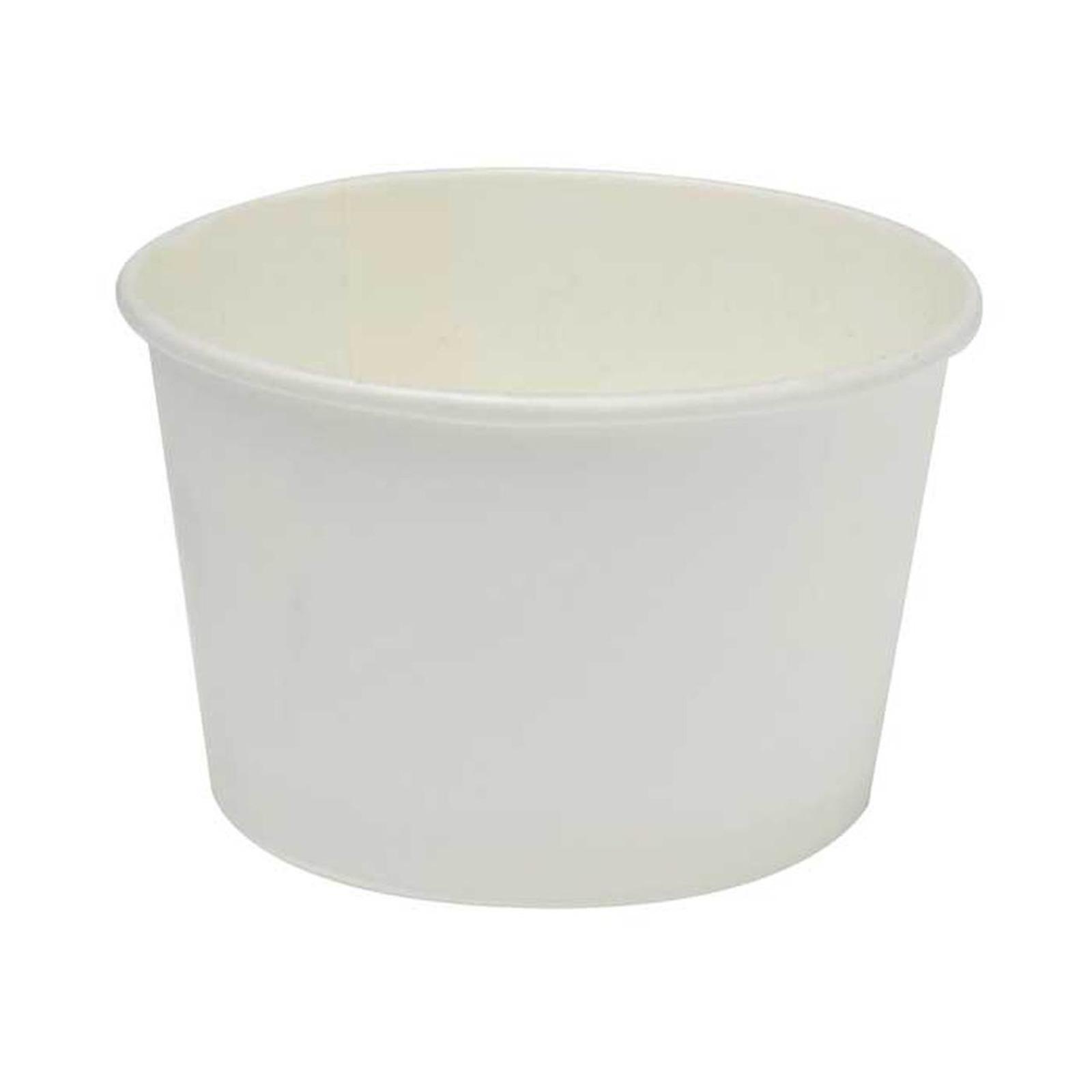 MTRADE Disposable 4 Oz Paper Ice Cream Cup