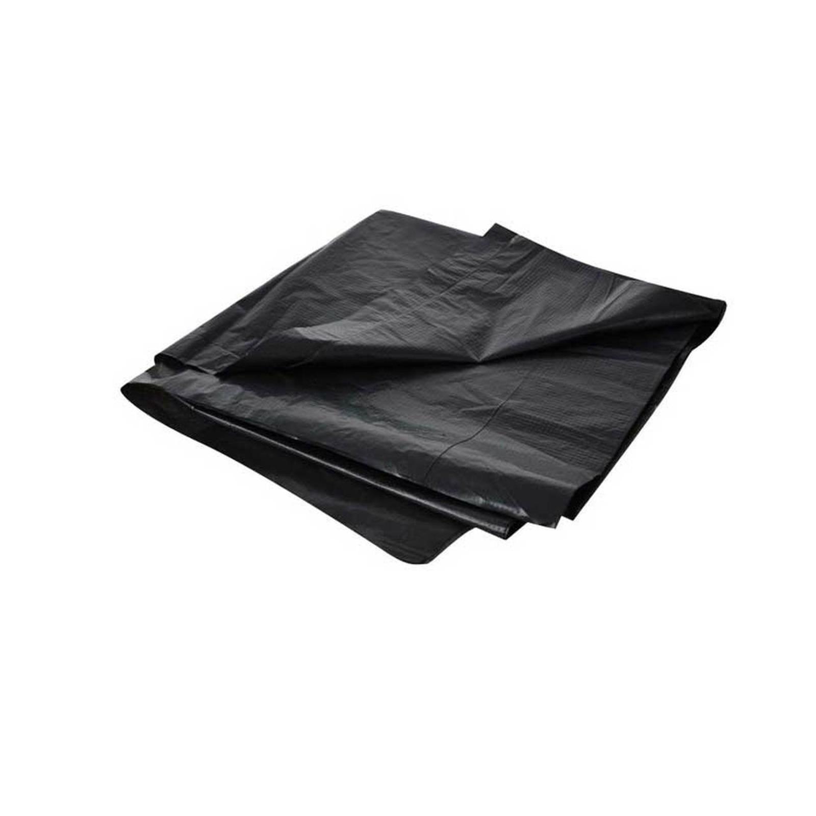MTRADE Black Plastic Trash Bags (30 Inch x 34 Inch)