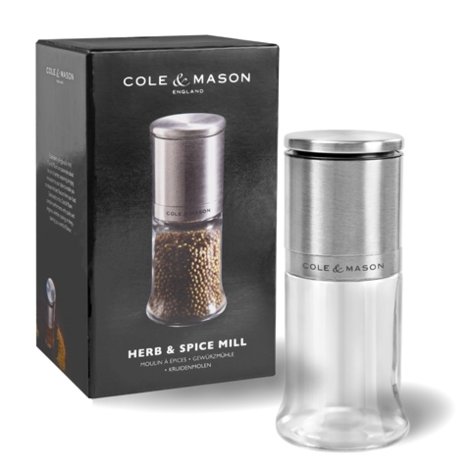 COLE&MASON Herb & Spice Mill 140mm