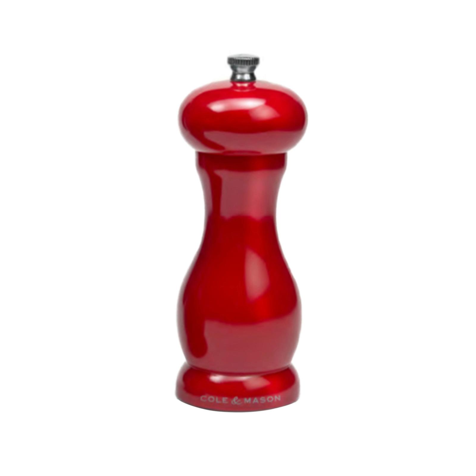COLE&MASON Precision Pepper Mill 15.5cm Red