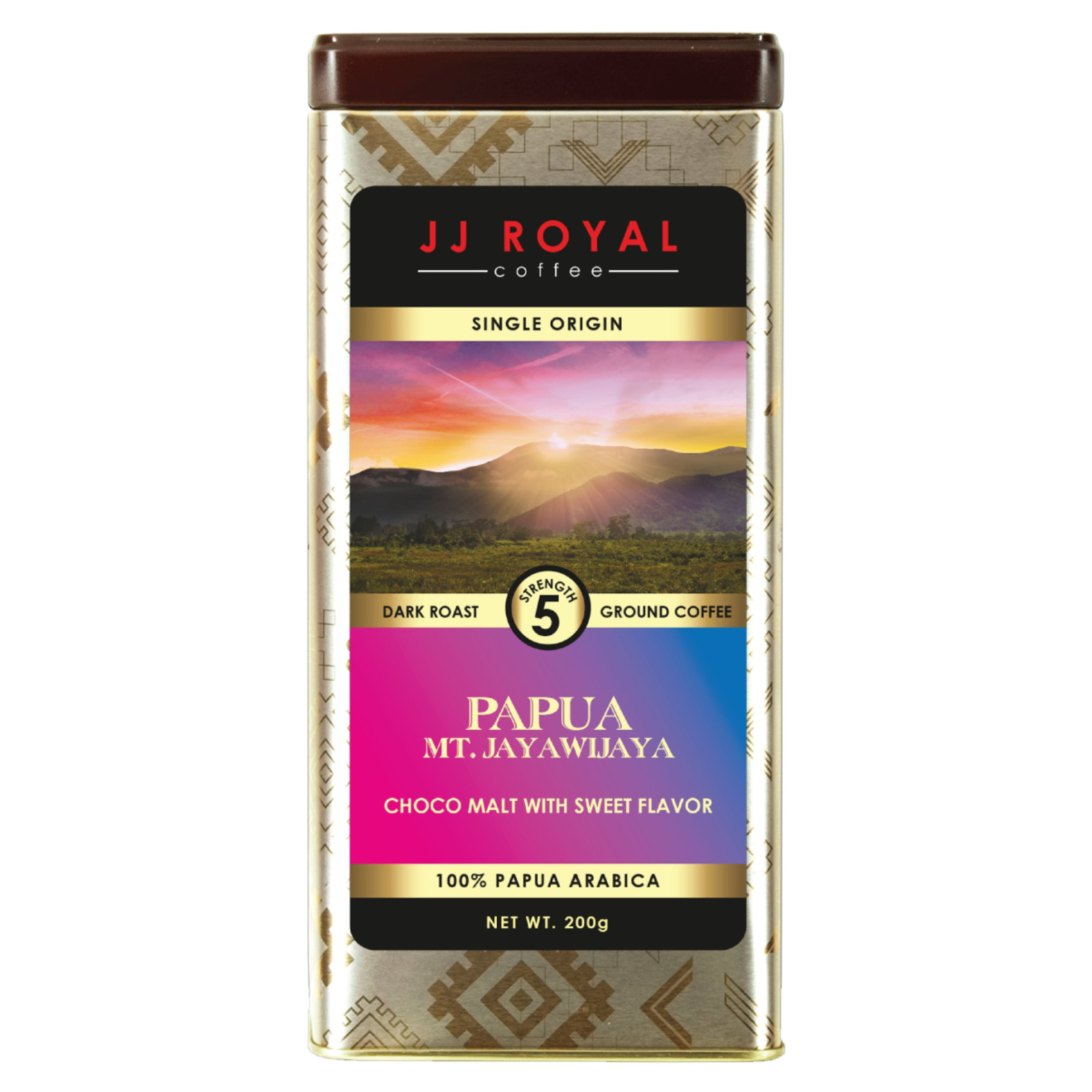 JJ Royal Coffee - Papua 100% Arabica (Ground)