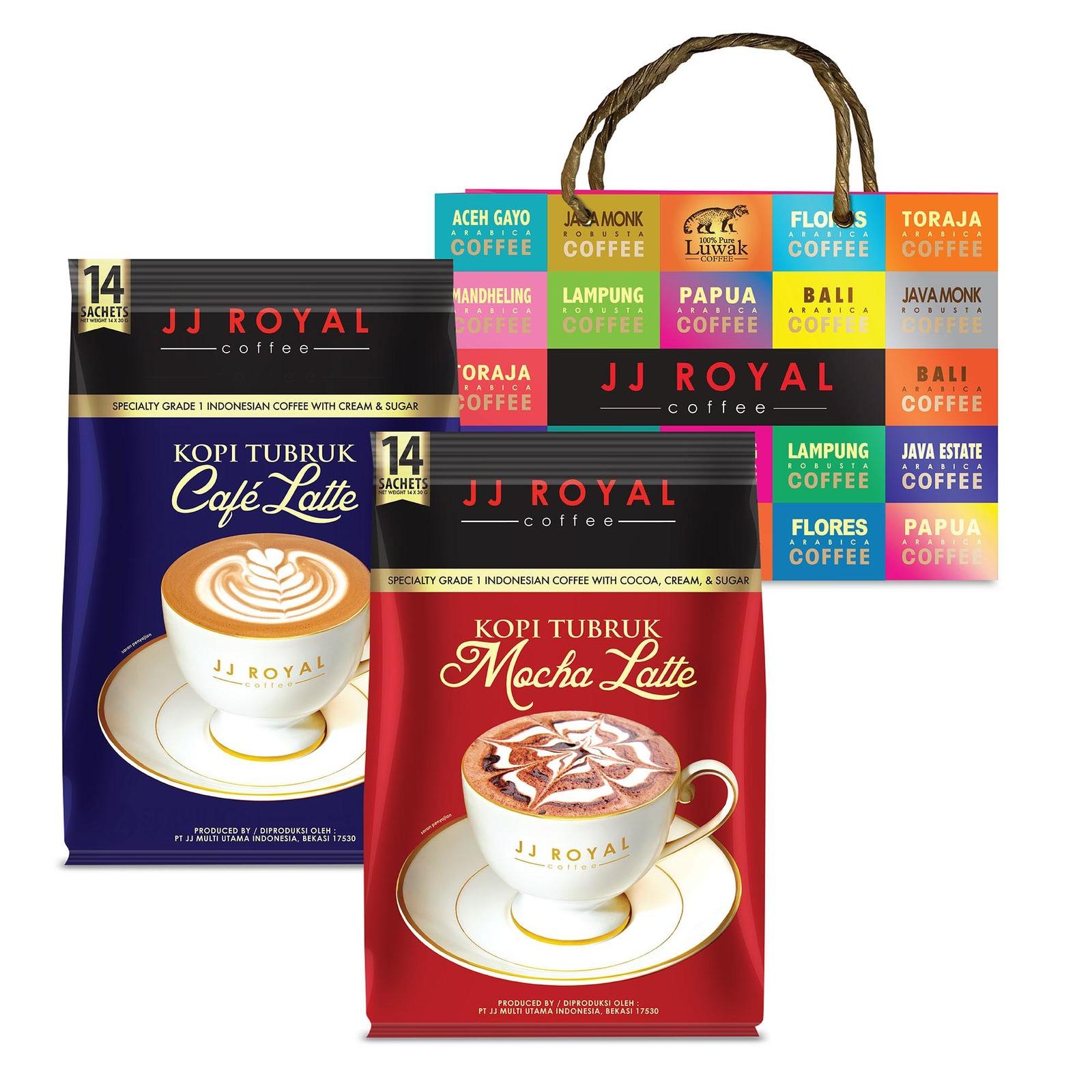 JJ Royal Coffee - Luxurious Latte Gift Set 2 (Premix)