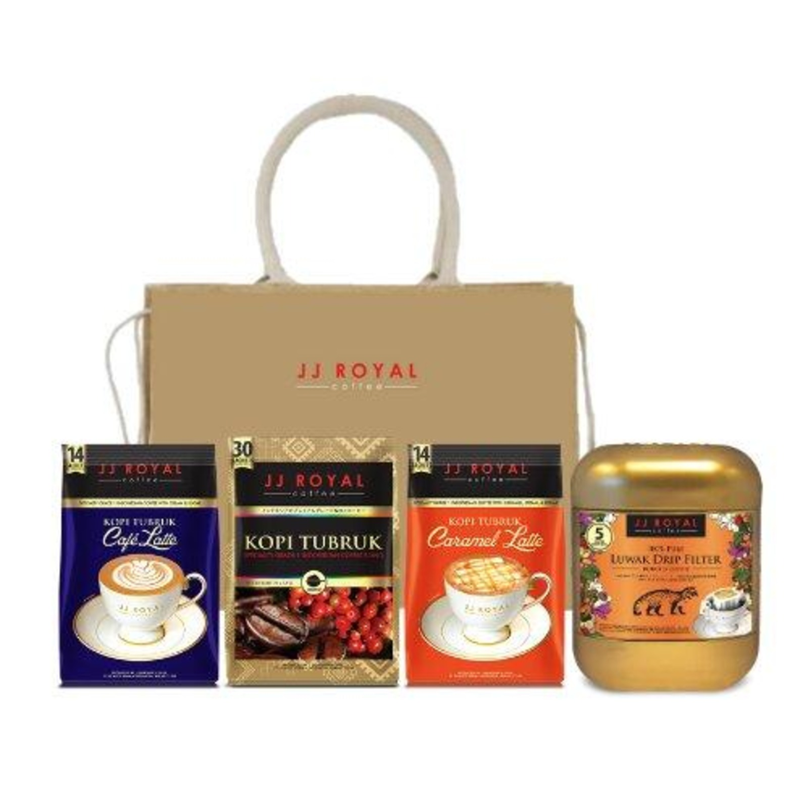 JJ Royal Coffee - Luxurious Latte Gift Set 1 (Premix)