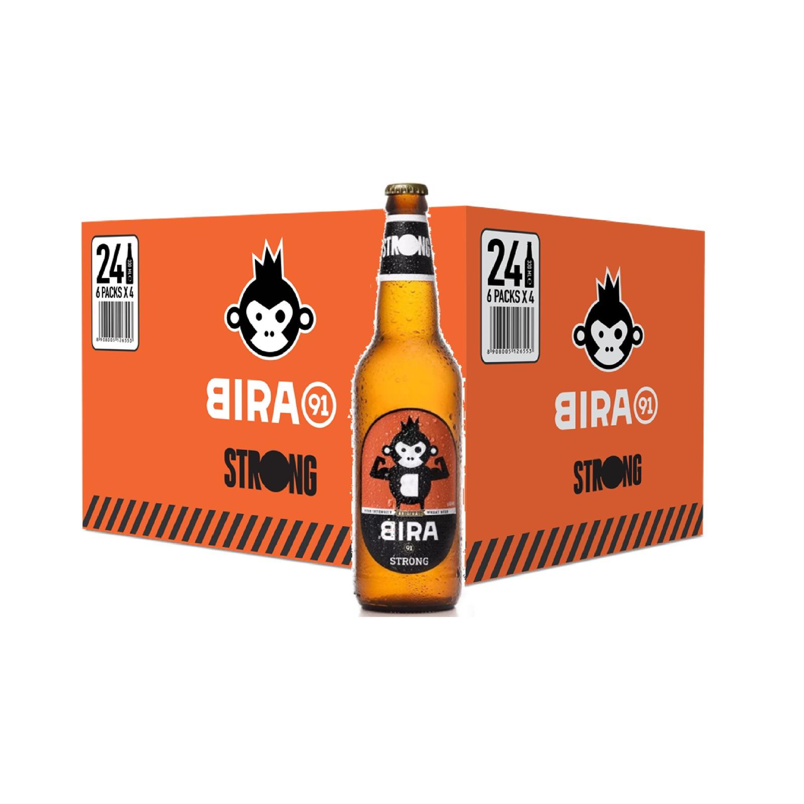 Bira 91 Strong Beer 6.5% Bottle - Case