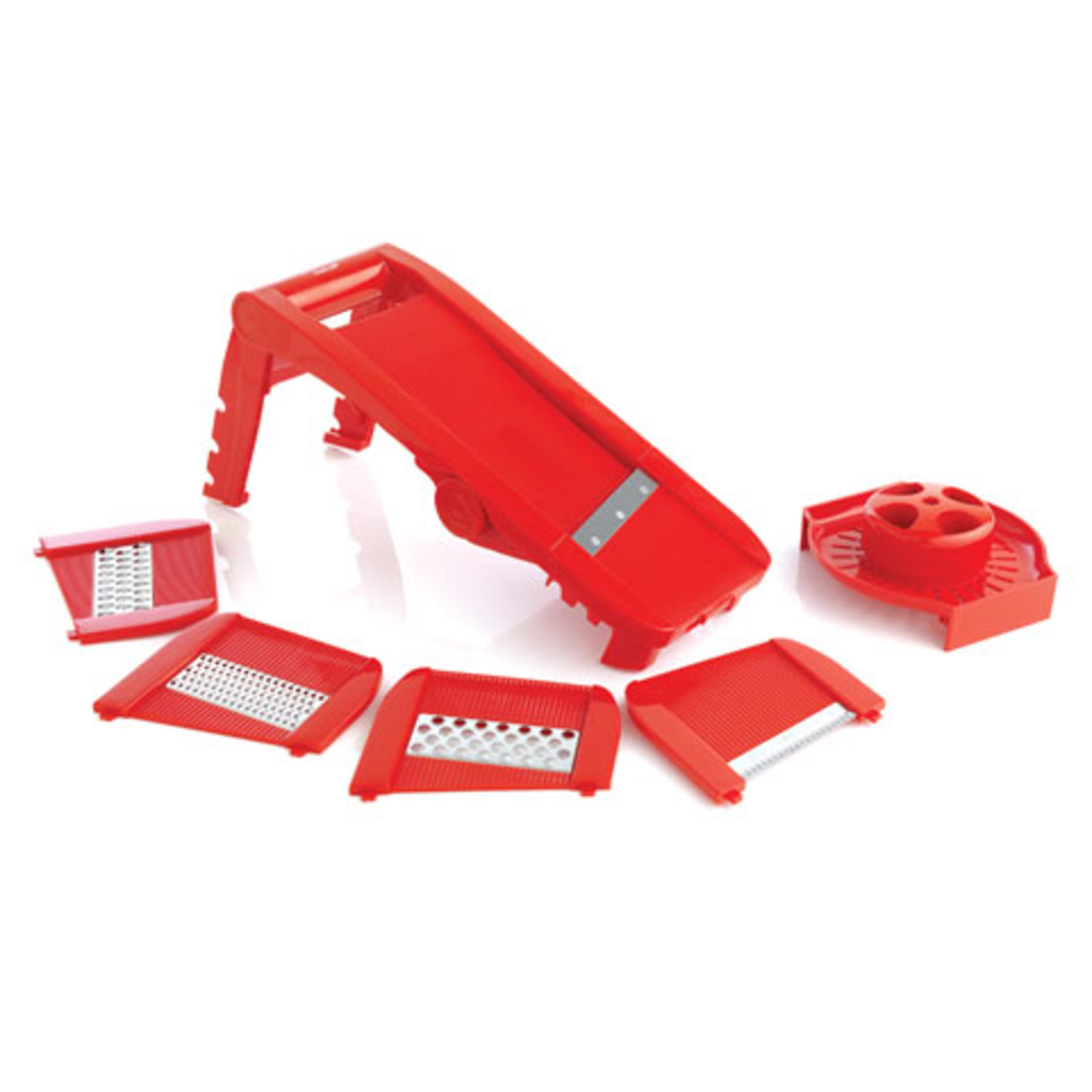 Mastrad Multi Slicer Mandoline - Red