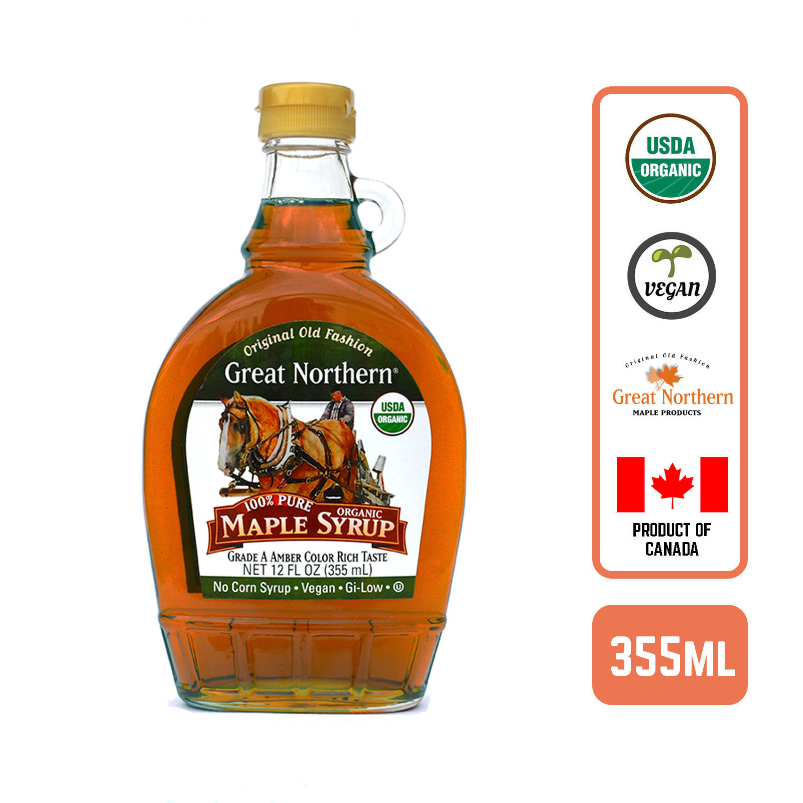 Great Northern Pure Organic Maple Syrup - by Foodsterr