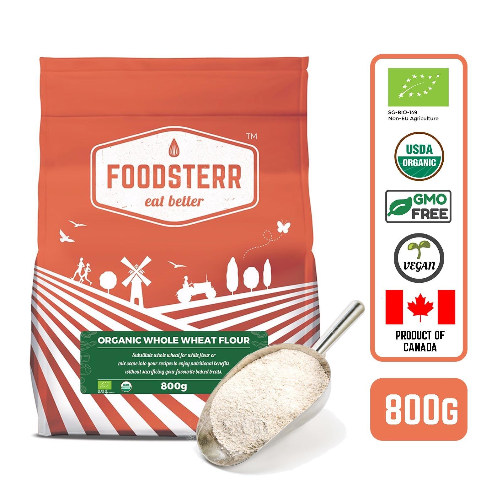 Foodsterr Canadian Organic Wholemeal Flour