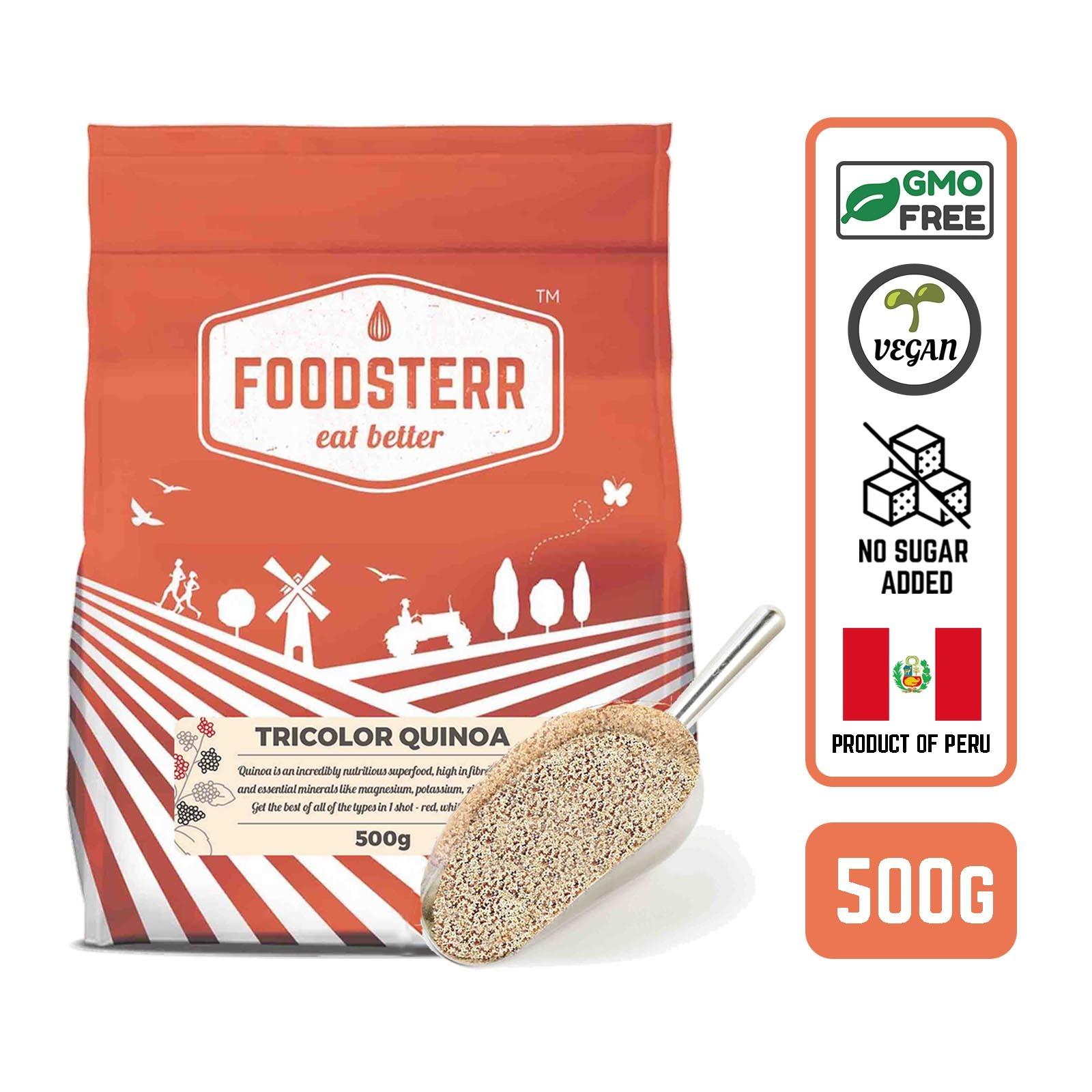 Foodsterr Peruvian Tri-color Quinoa