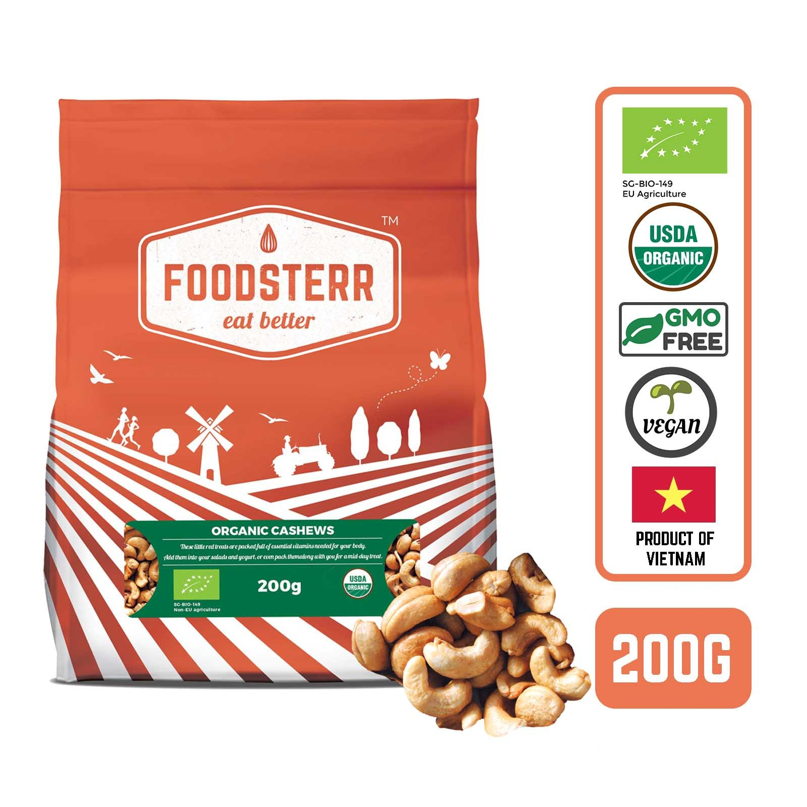 Foodsterr Organic Vietnam Cashews
