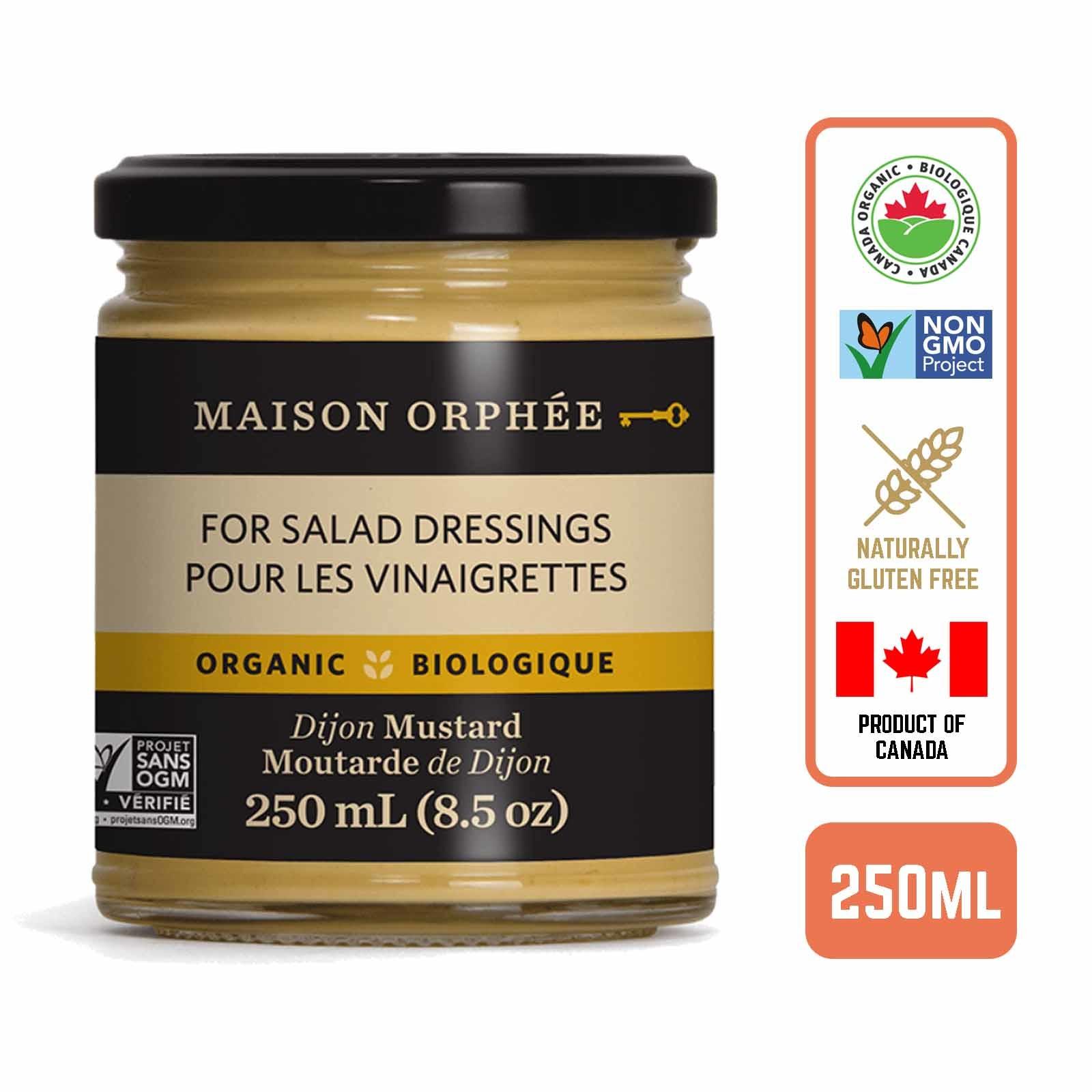 Maison Orphee Organic Dijon Mustard - by Foodsterr