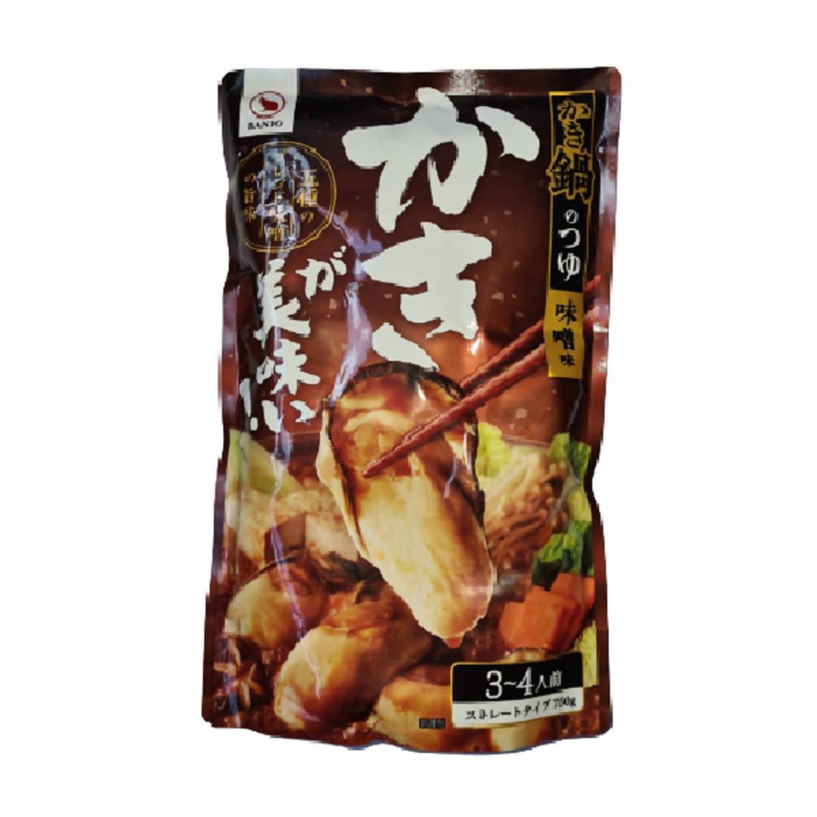 Banjo Kaki Nabe No Tsuyu Delicious Oyster Hotpot Base