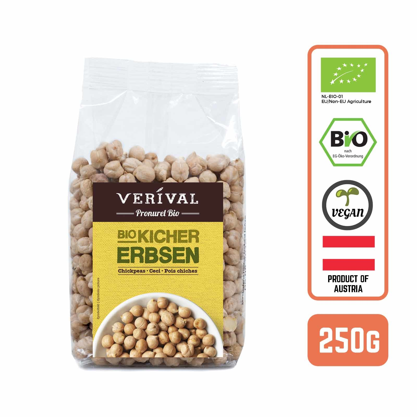 Verival Organic Turkish Chickpeas- by Foodsterr