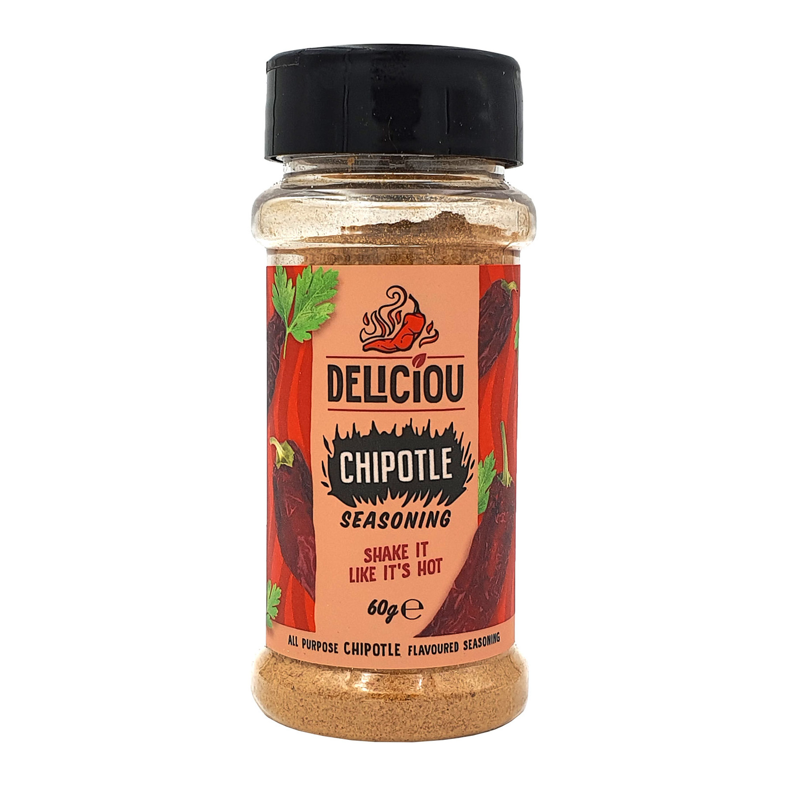 Deliciou Vegan Chipotle Seasoning Gluten Free Kosher