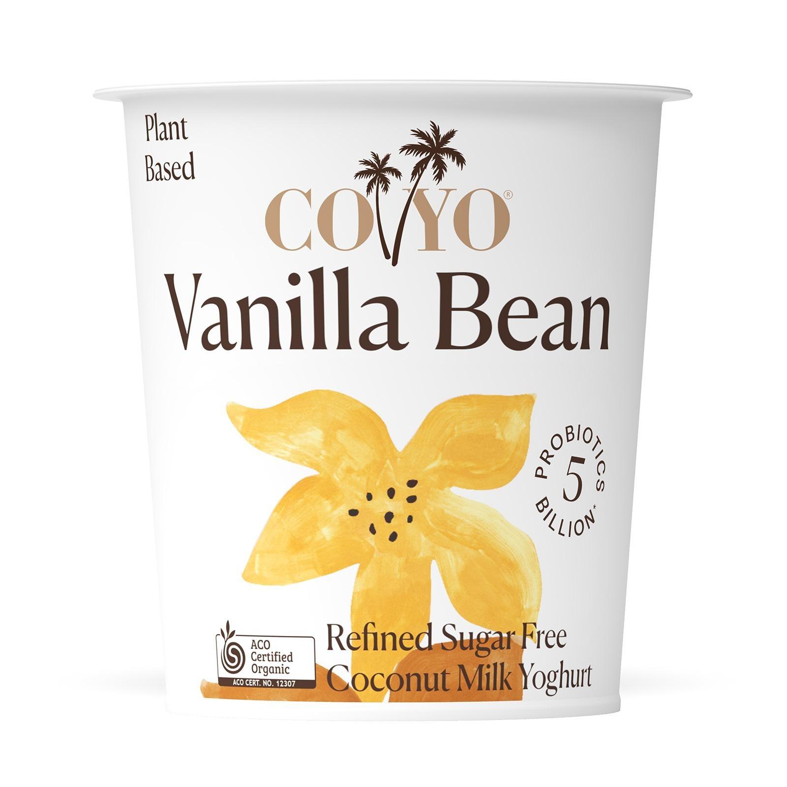 COYO Dairy Free Organic Vanilla Bean Coconut Milk Yogurt